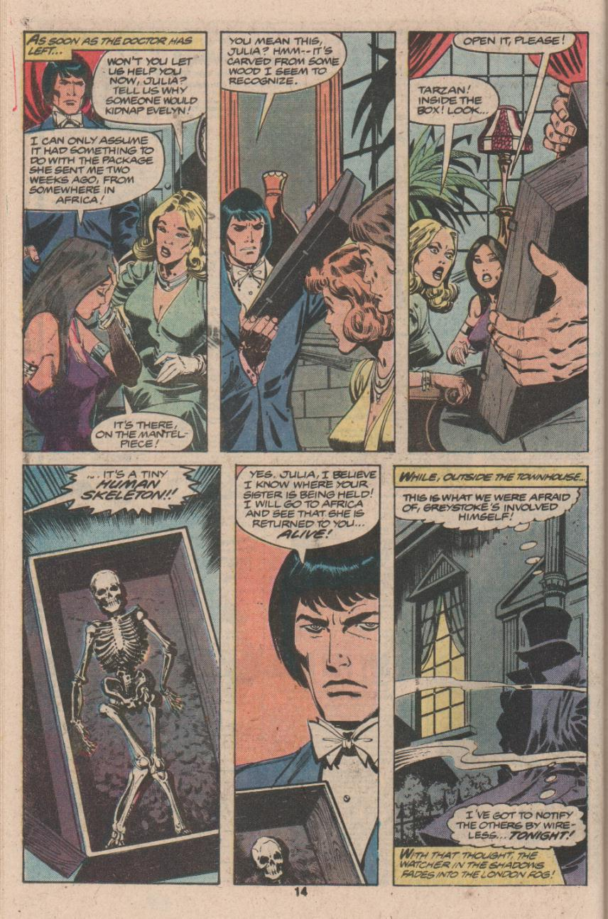Read online Tarzan (1977) comic -  Issue # _Annual 3 - 11