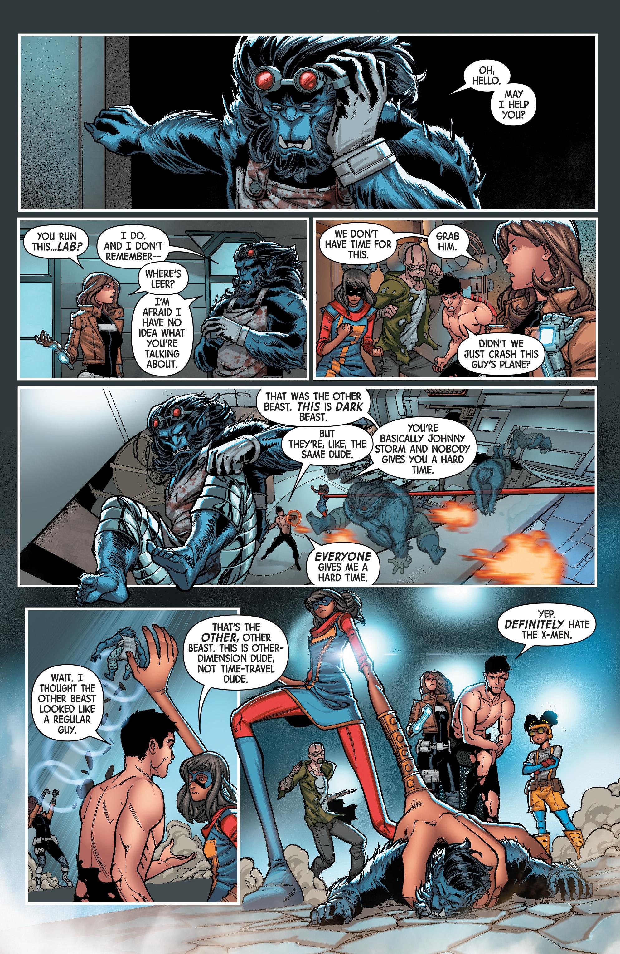 Read online Secret Warriors (2017) comic -  Issue #3 - 15