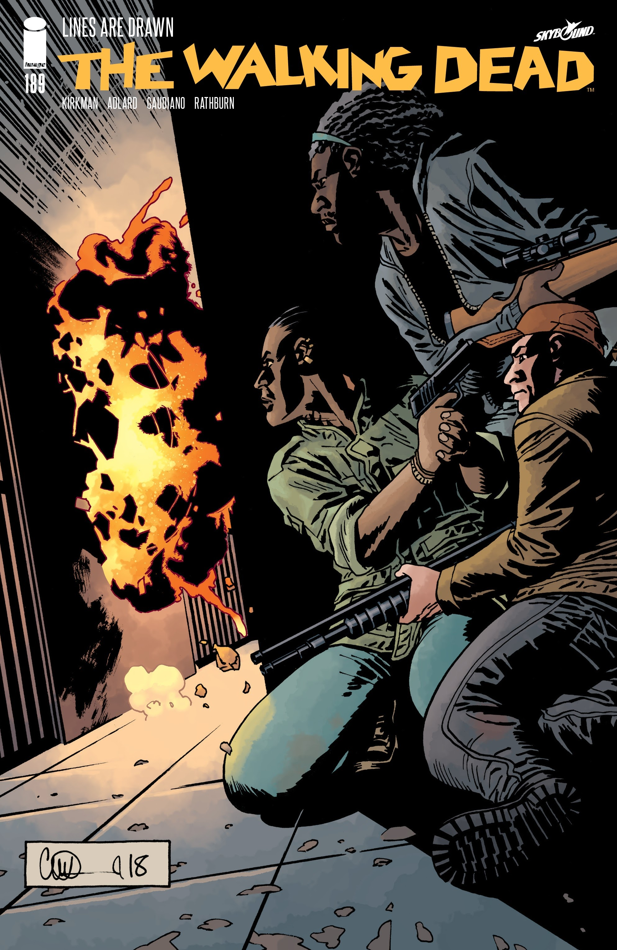 The Walking Dead 189 Page 1