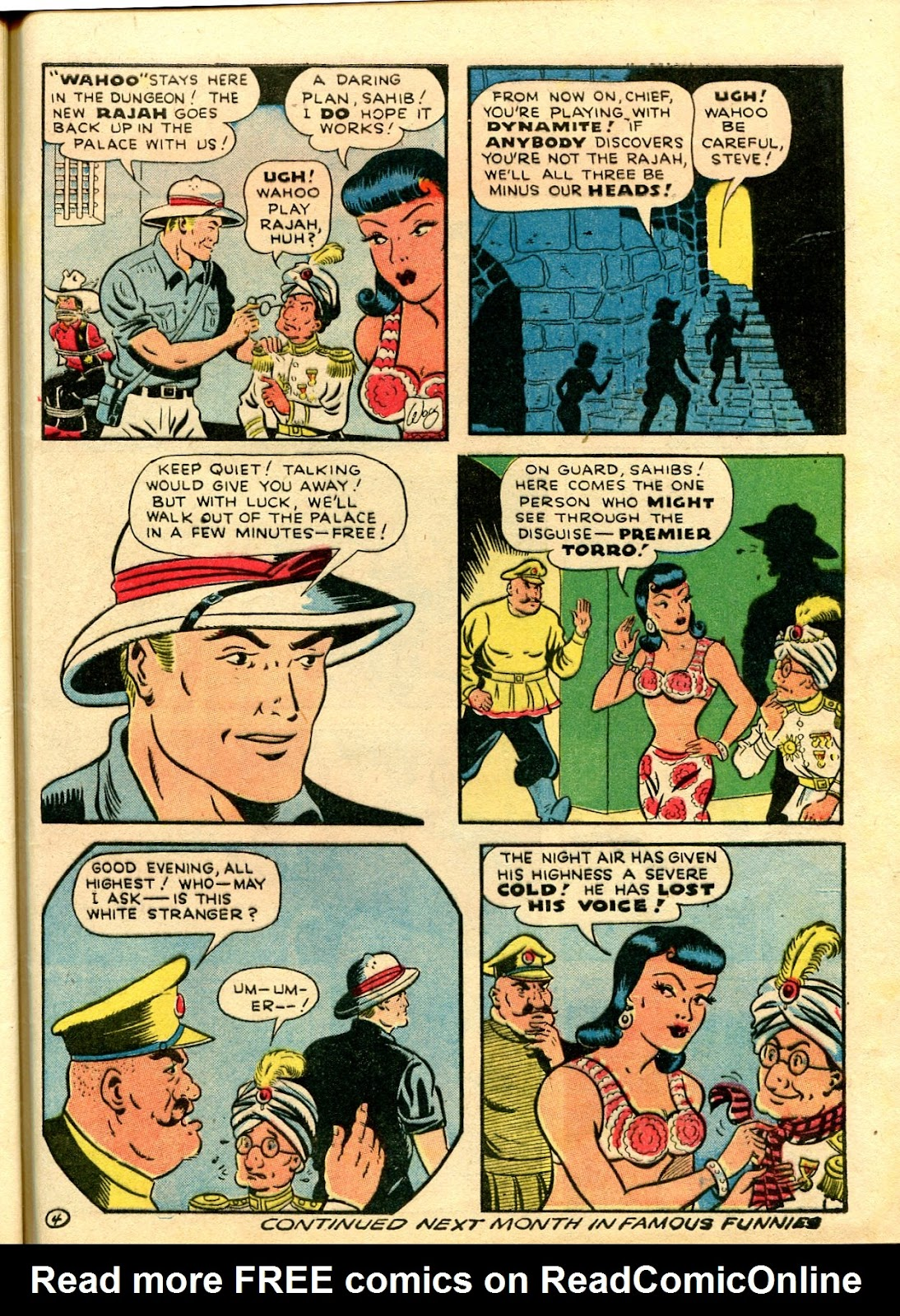 Read online Famous Funnies comic -  Issue #111 - 57