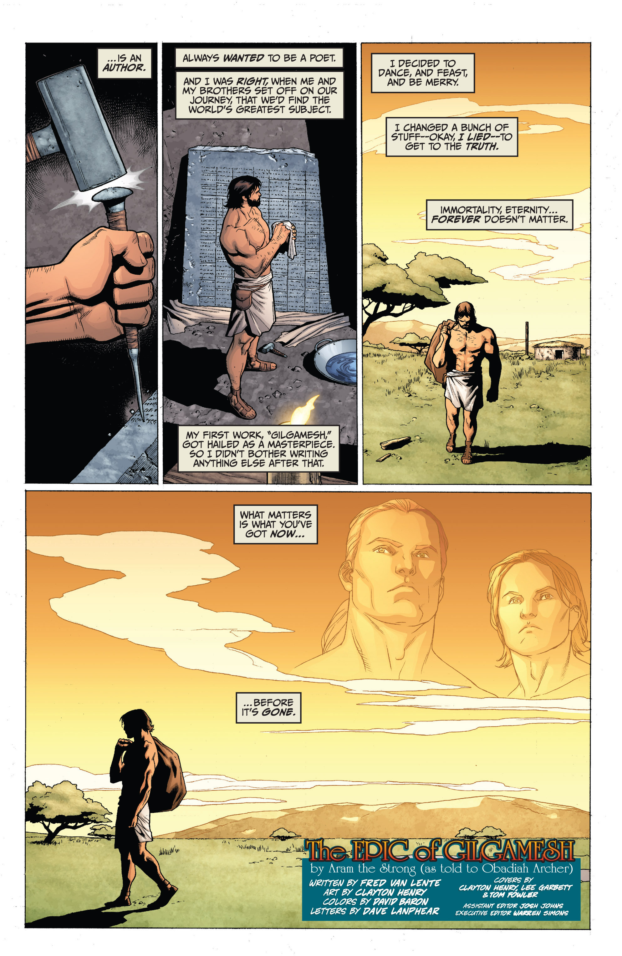 Read online Archer and Armstrong comic -  Issue #0 - 21