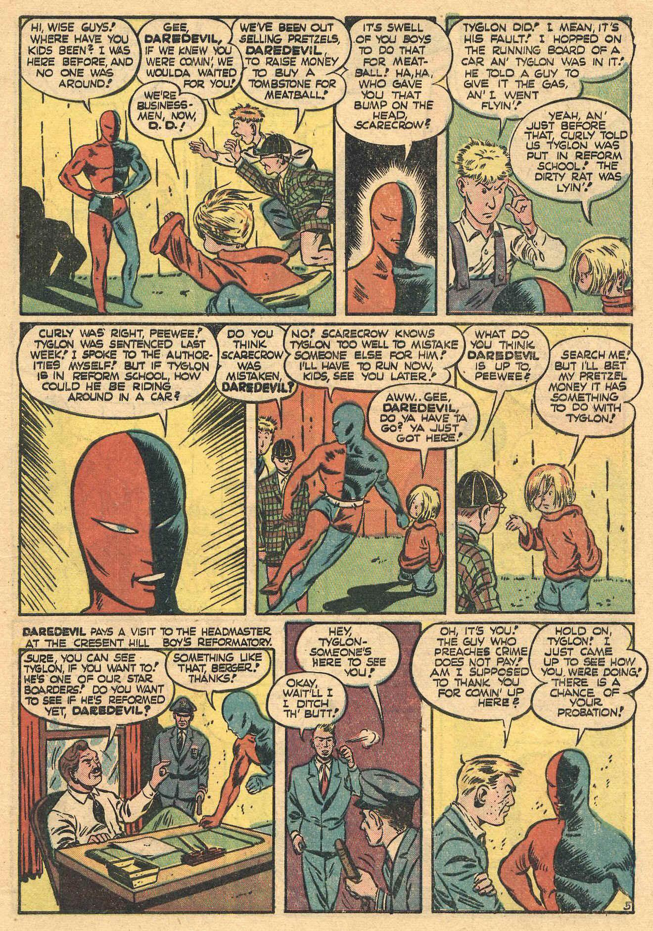 Daredevil (1941) issue 16 - Page 7