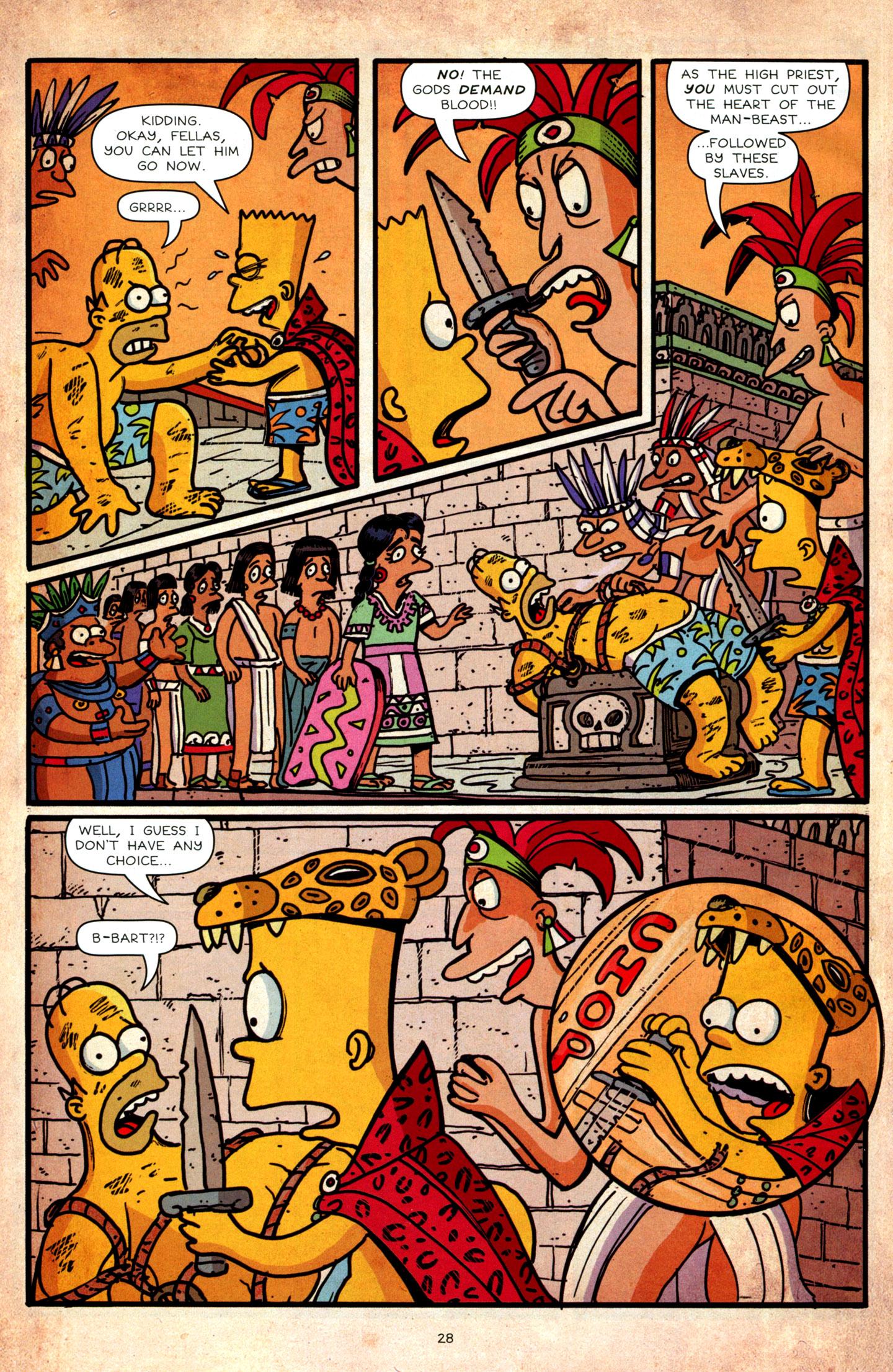Read online Simpsons Comics Presents Bart Simpson comic -  Issue #64 - 30