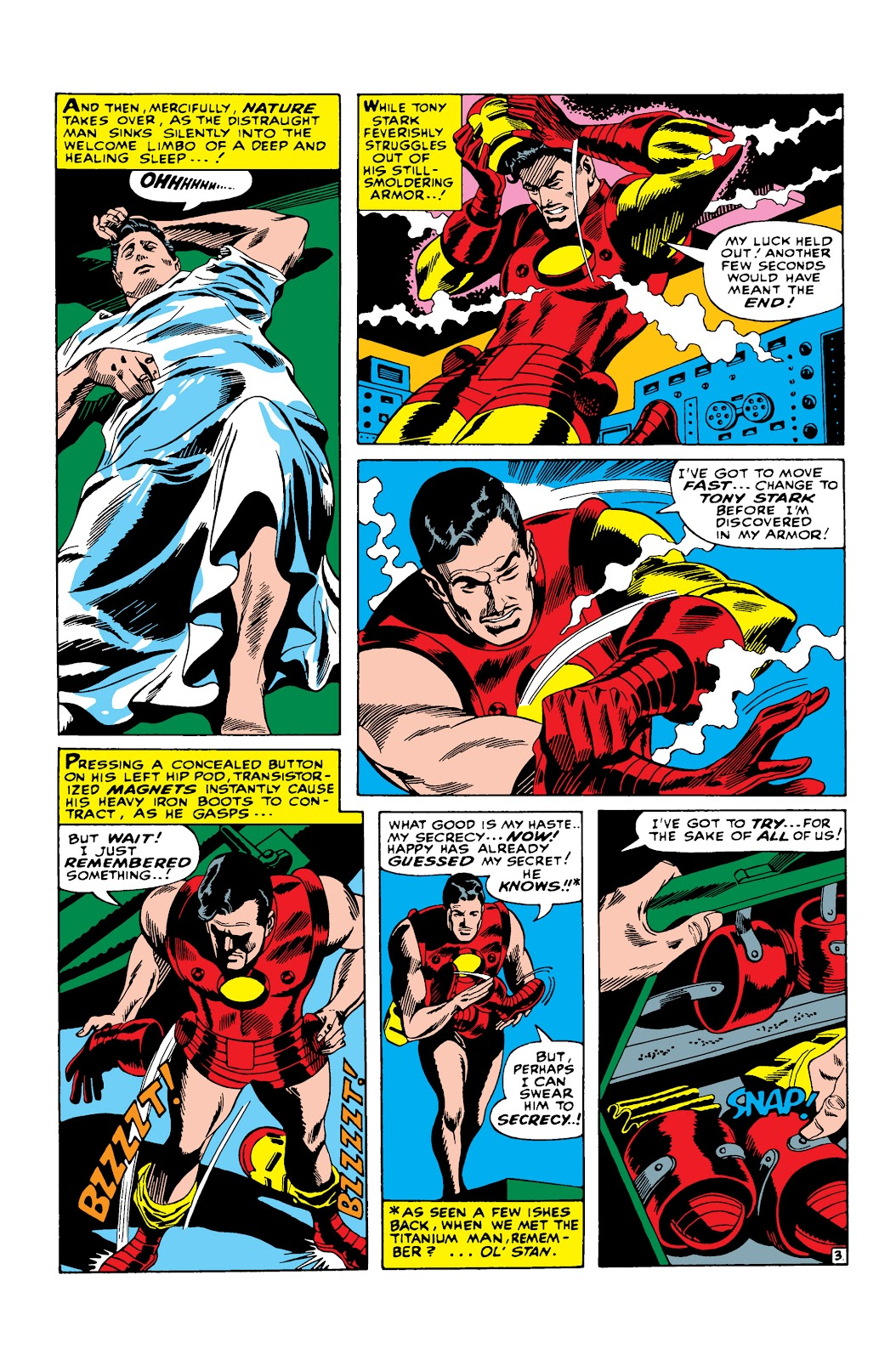 Read online Marvel Masterworks: The Invincible Iron Man comic -  Issue # TPB 3 (Part 3) - 36