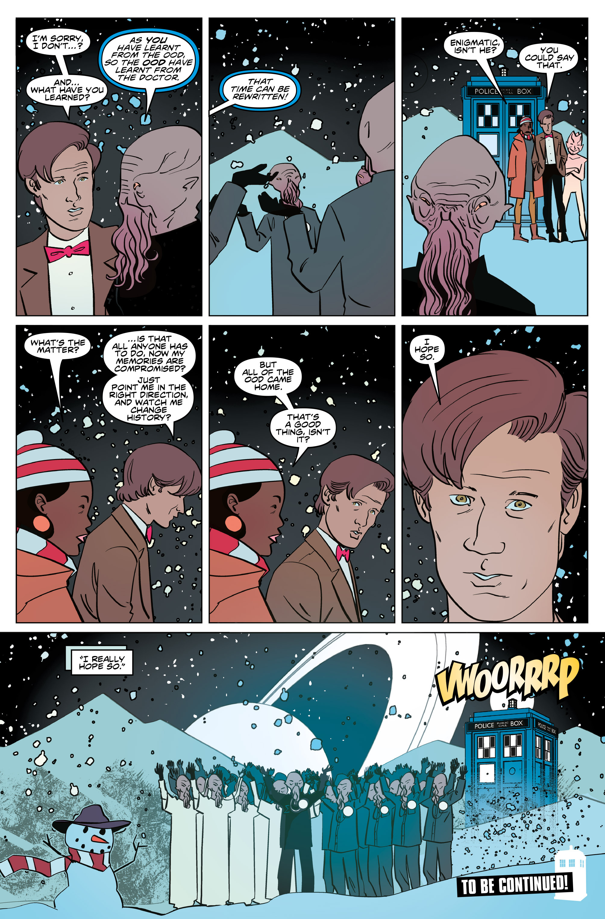 Read online Doctor Who: The Eleventh Doctor Year Three comic -  Issue #5 - 27