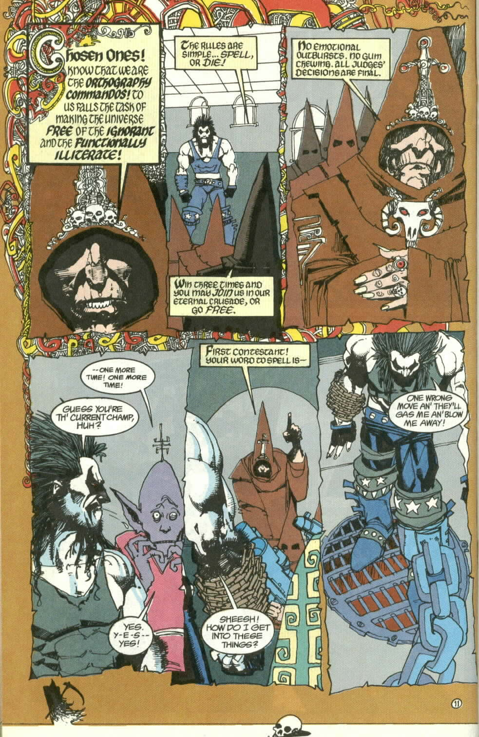 Read online Lobo (1990) comic -  Issue #3 - 12
