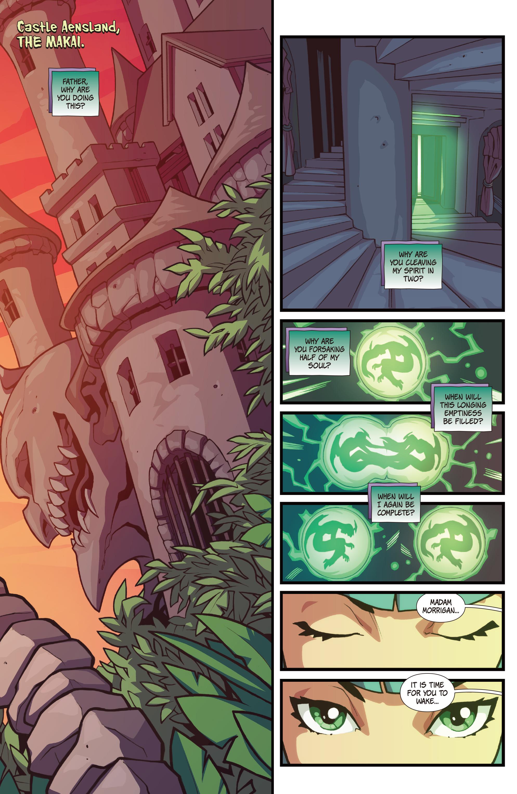 Read online Street Fighter VS Darkstalkers comic -  Issue #1 - 10