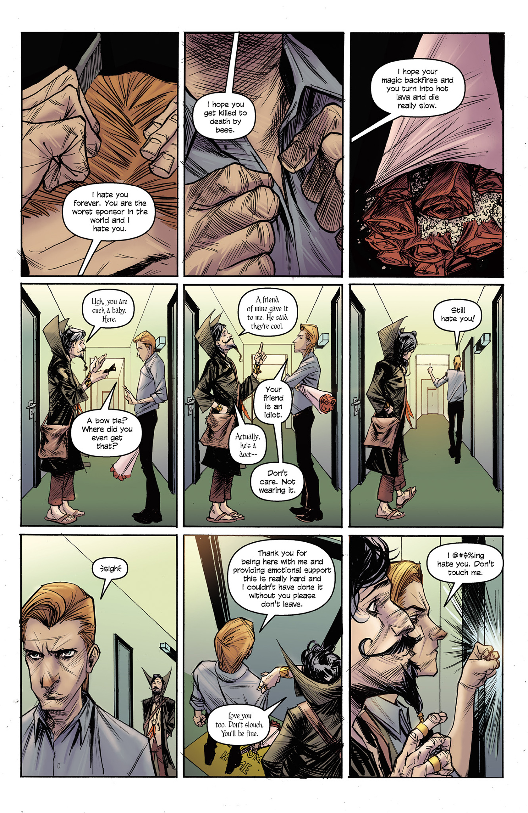 Read online Buzzkill comic -  Issue #3 - 10