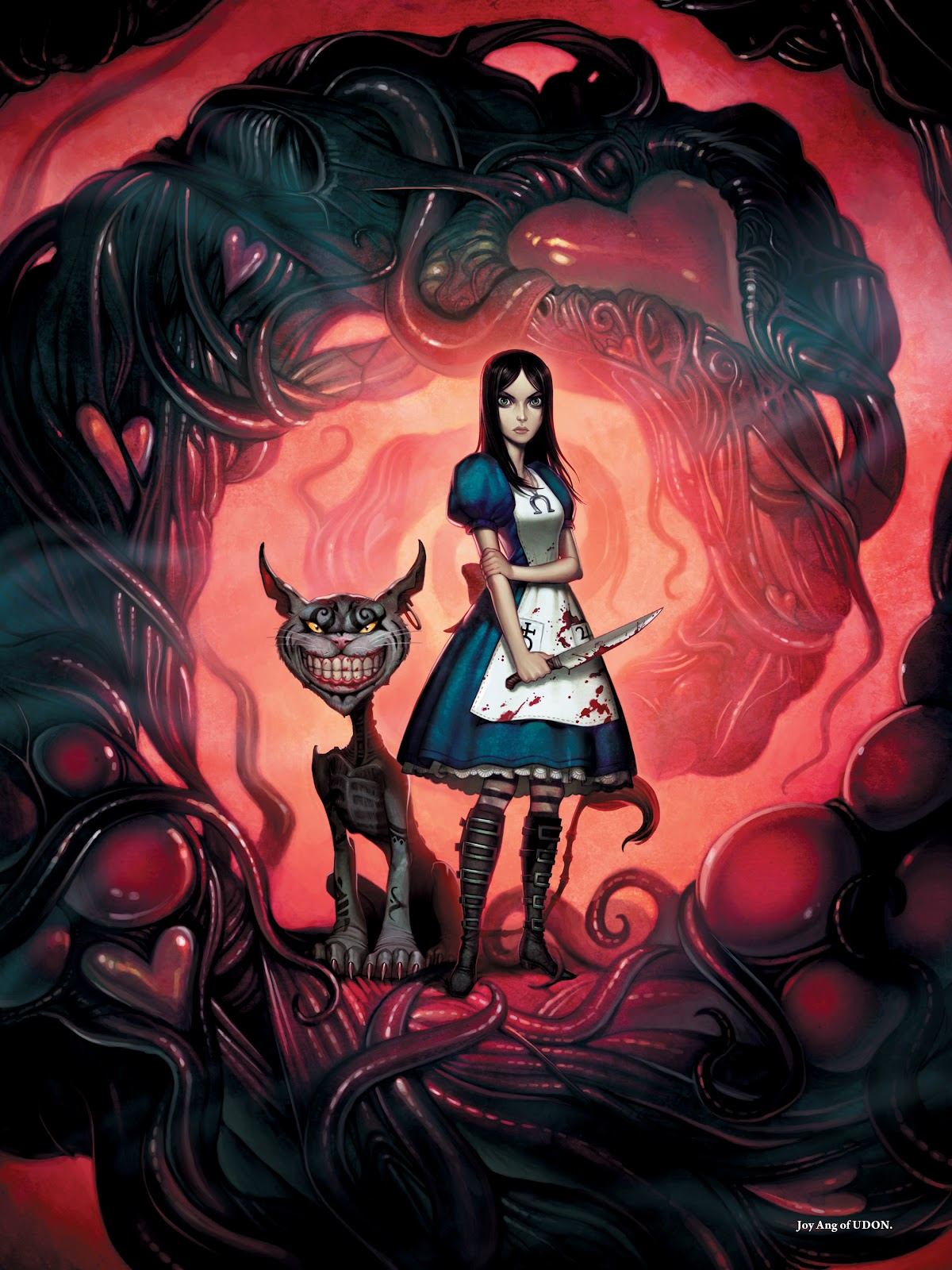 Read online The Art of Alice: Madness Returns comic -  Issue # TPB (Part 2) - 74