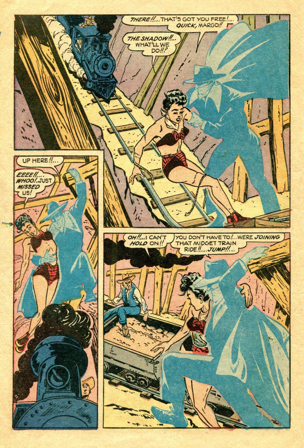 Read online Shadow Comics comic -  Issue #75 - 13