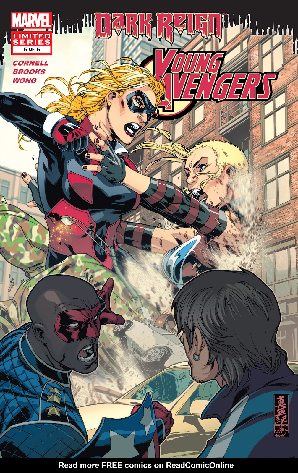 Dark Reign: Young Avengers issue 5 - Page 1