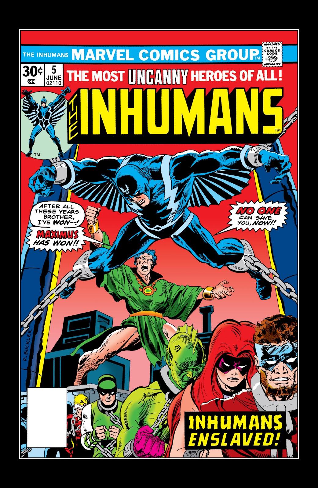 Read online Marvel Masterworks: The Inhumans comic -  Issue # TPB 2 (Part 1) - 82