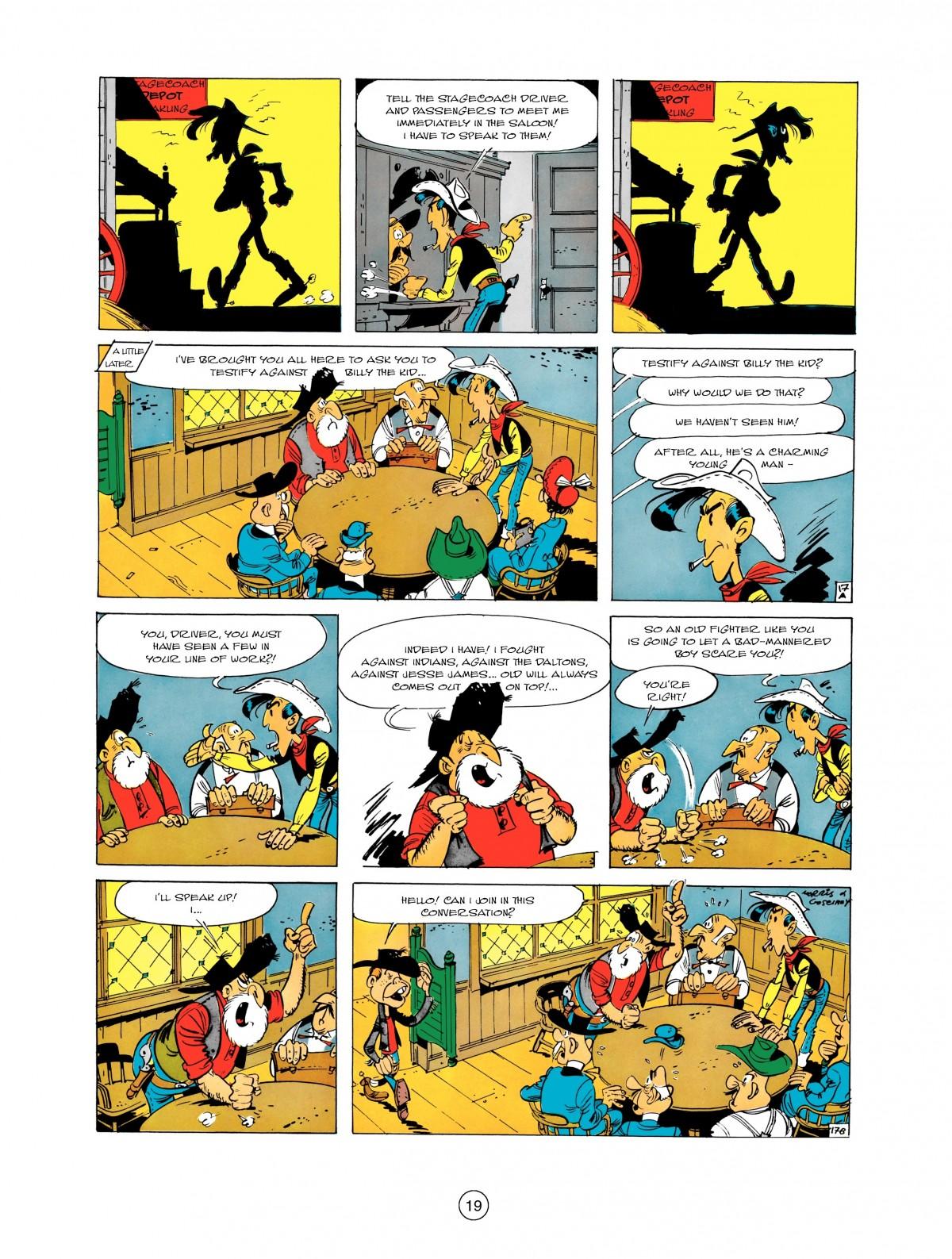 Read online A Lucky Luke Adventure comic -  Issue #1 - 21