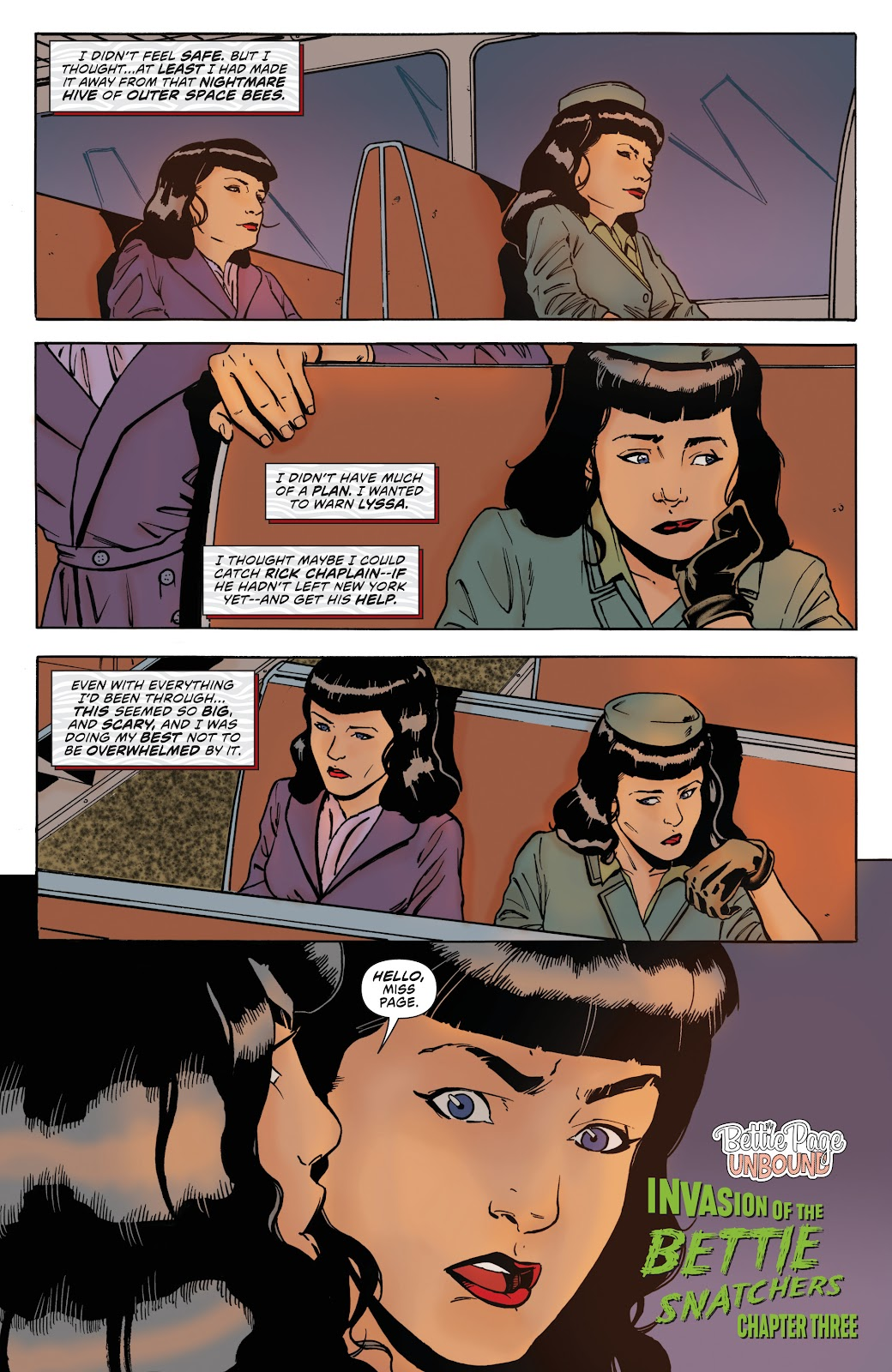 Read online Bettie Page: Unbound comic -  Issue #8 - 7