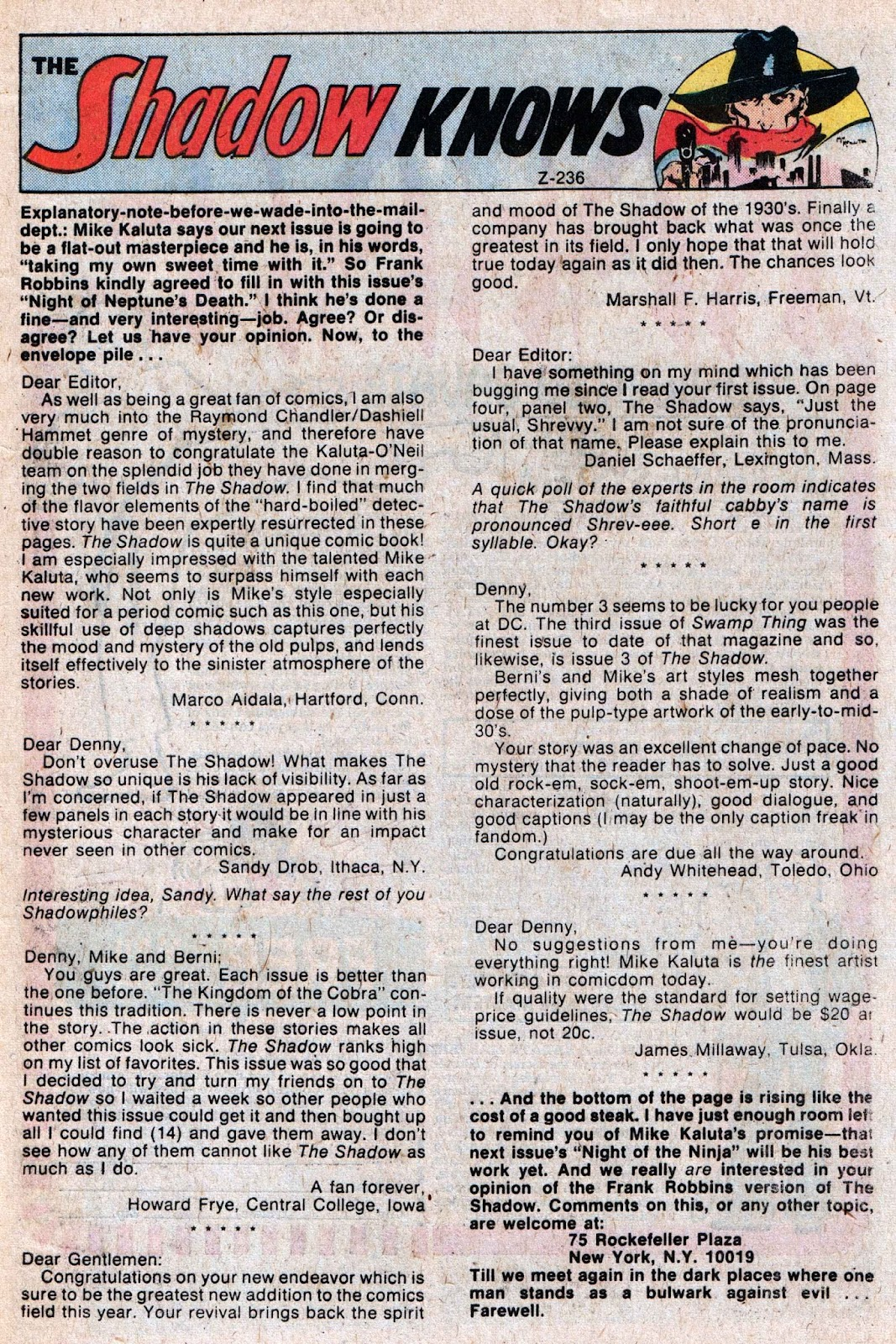 The Shadow (1973) issue 5 - Page 32