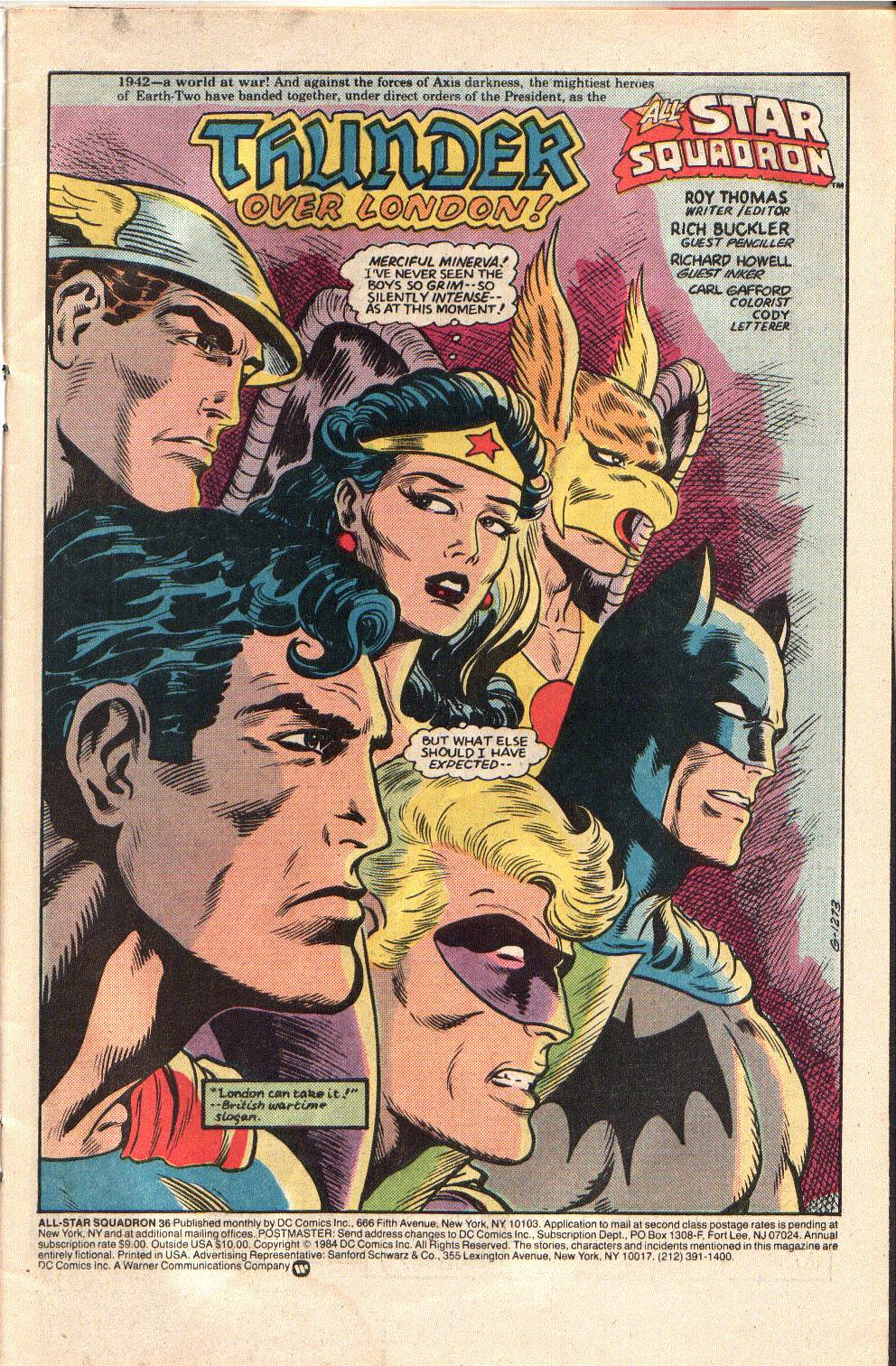 Read online All-Star Squadron comic -  Issue #36 - 3