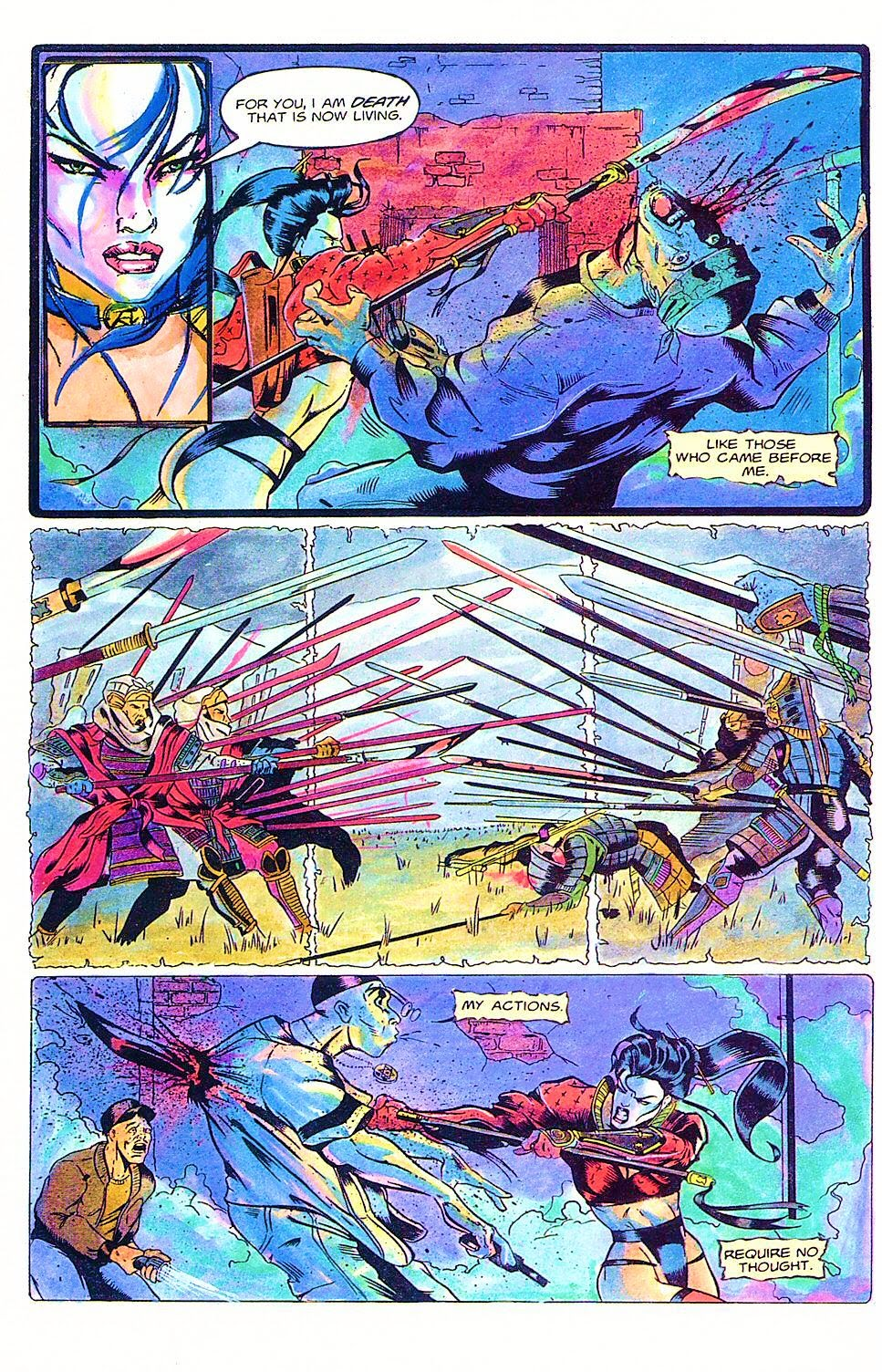 Read online Shi: The Way of the Warrior comic -  Issue #1 - 18