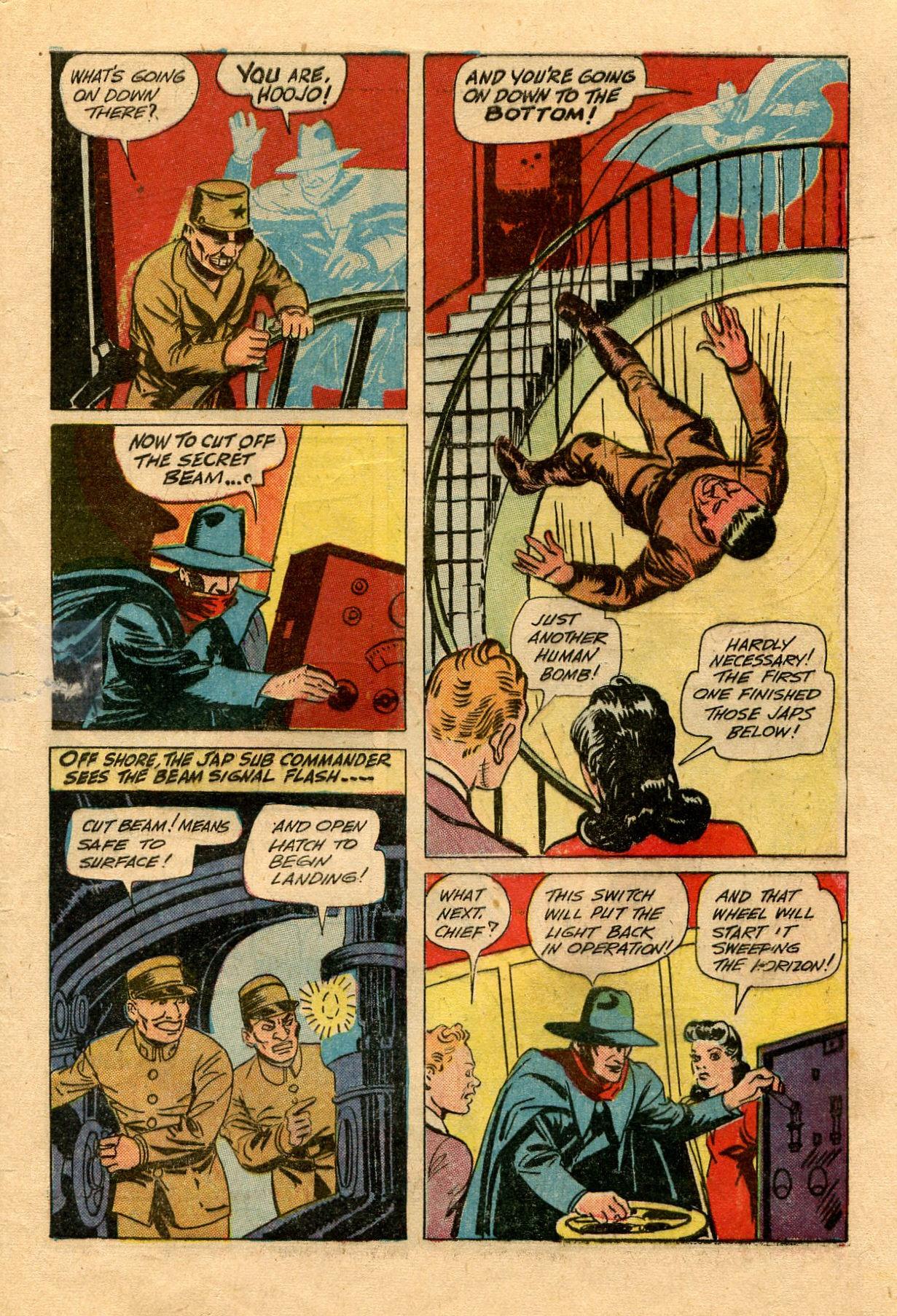 Read online Shadow Comics comic -  Issue #33 - 57