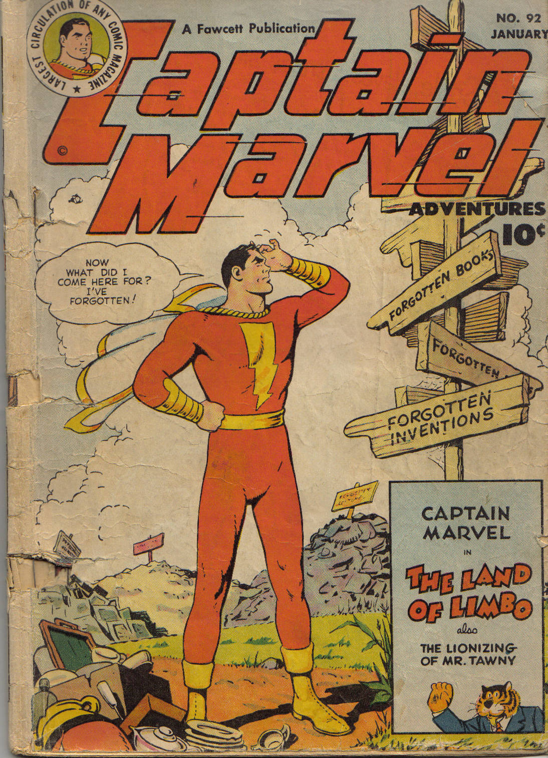 Captain Marvel Adventures issue 92 - Page 1