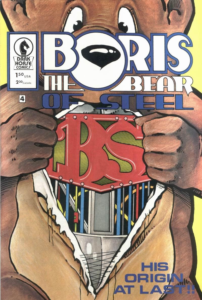 Boris The Bear 4 Page 1
