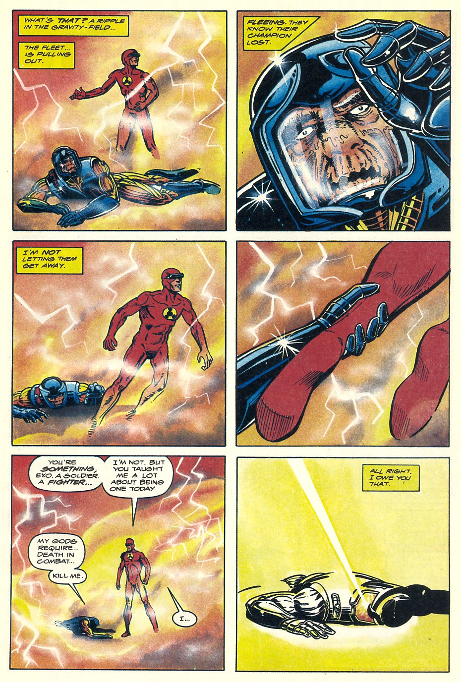 Read online Solar, Man of the Atom comic -  Issue #7 - 36