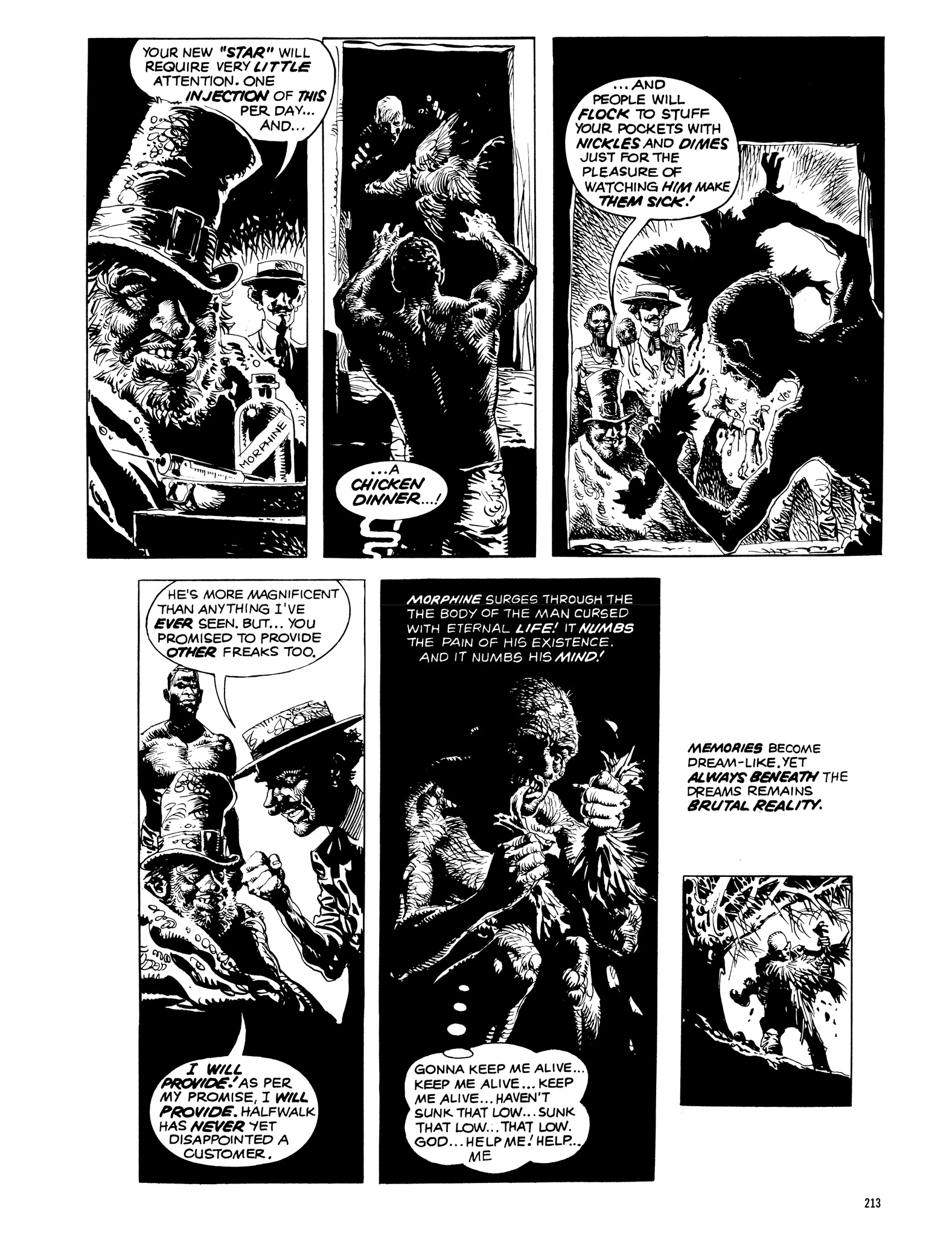 Read online Eerie Archives comic -  Issue # TPB 14 - 214