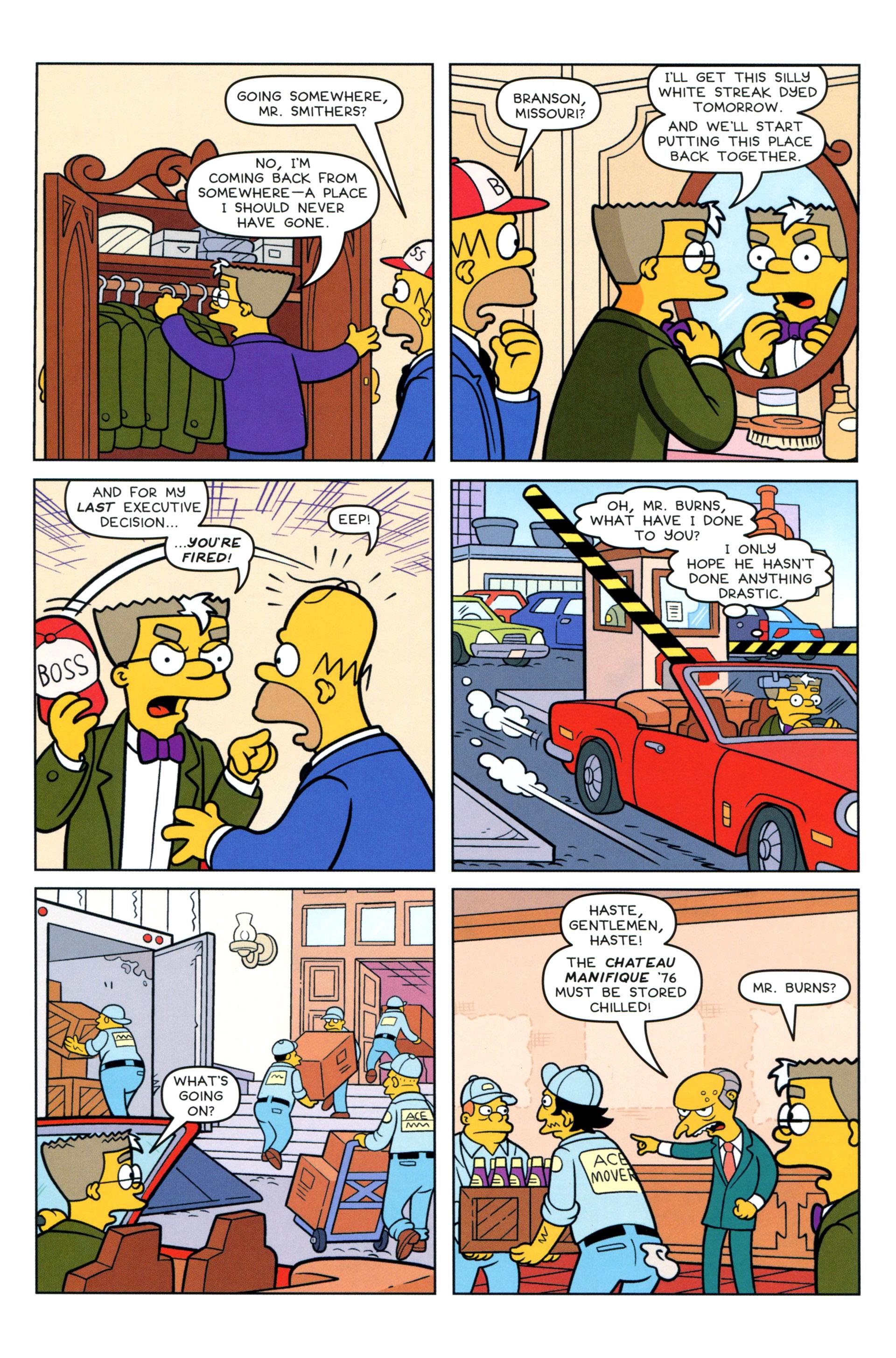 Read online Simpsons Comics comic -  Issue #205 - 22