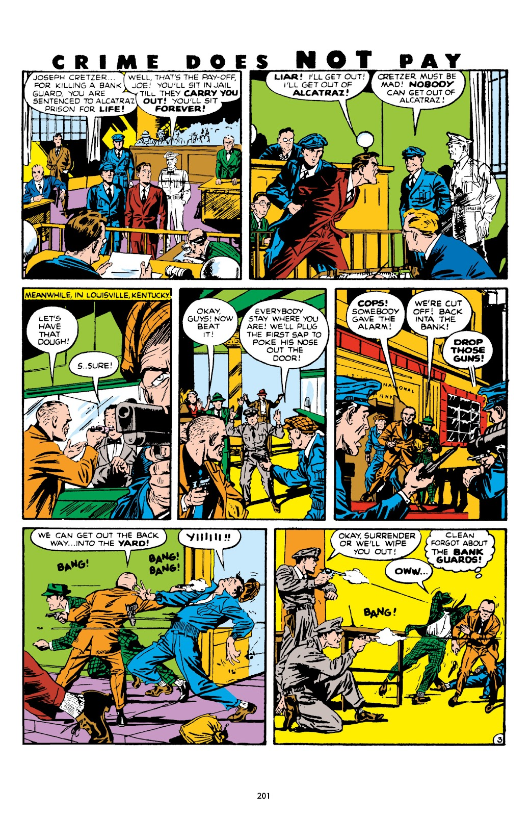 Read online Crime Does Not Pay Archives comic -  Issue # TPB 7 (Part 3) - 2