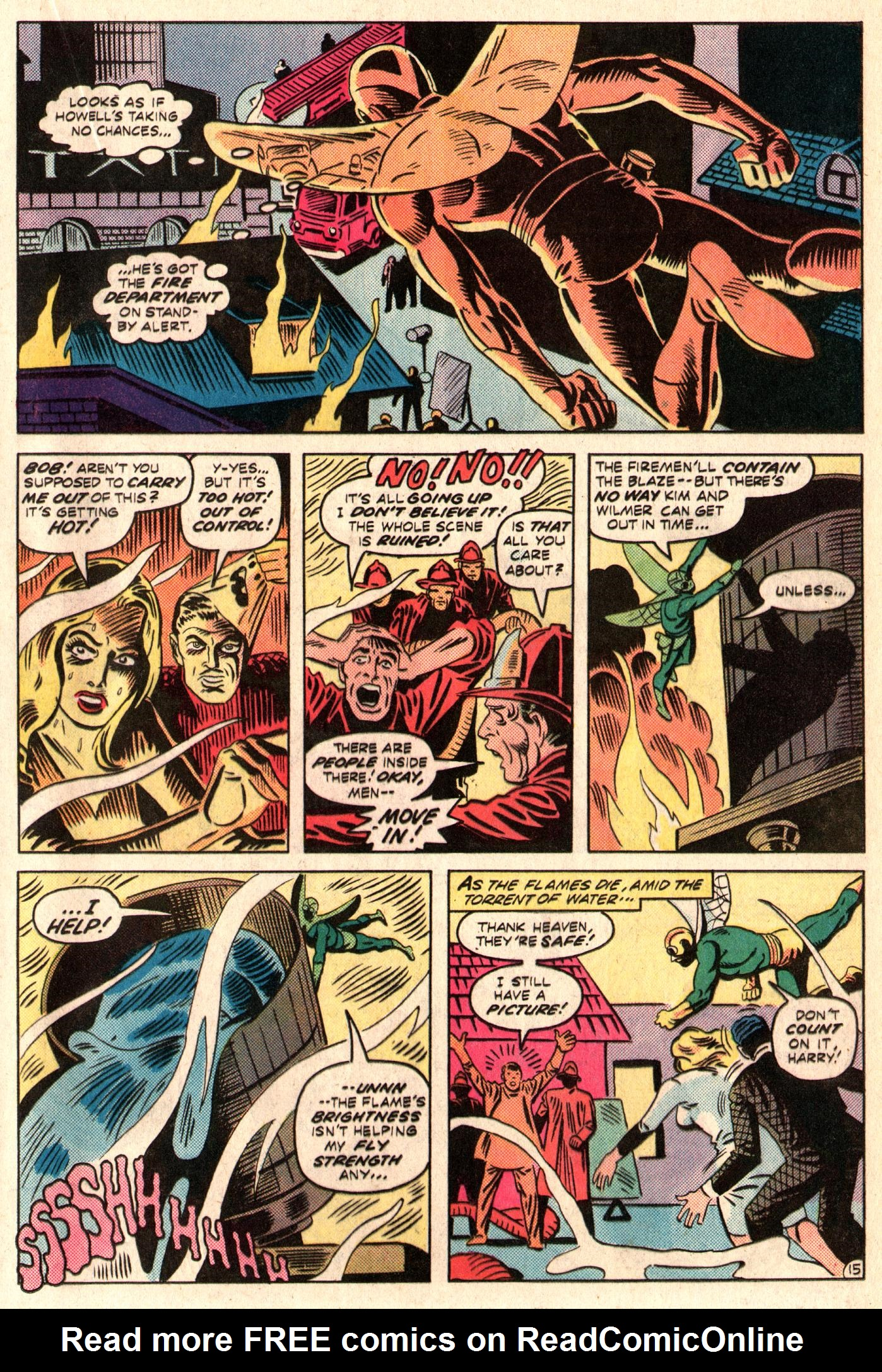 Read online The Fly (1983) comic -  Issue #3 - 16
