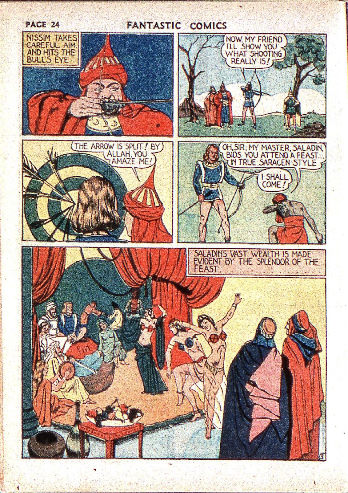 Read online Fantastic Comics comic -  Issue #2 - 26