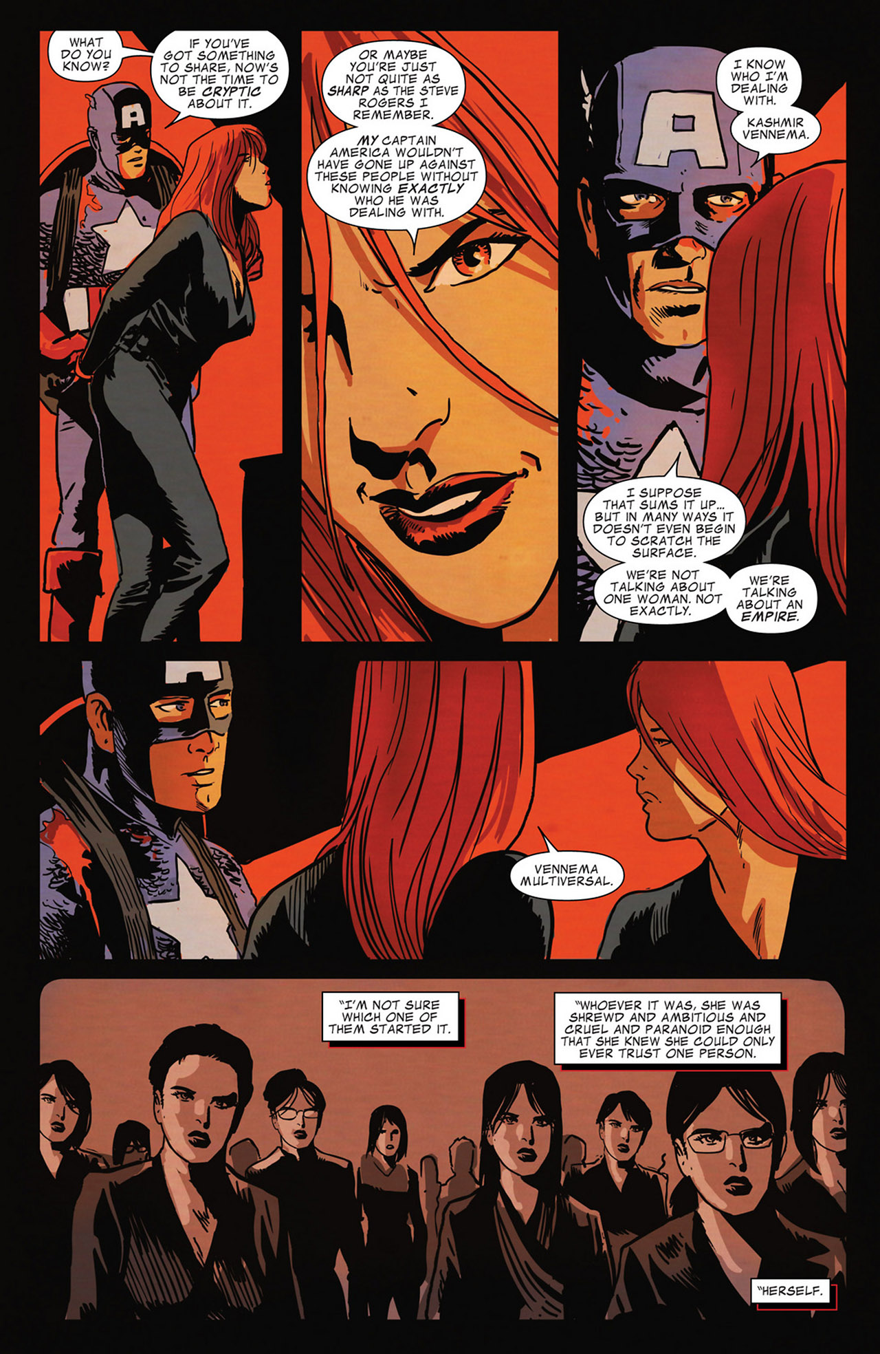 Read online Captain America And Black Widow comic -  Issue #637 - 16