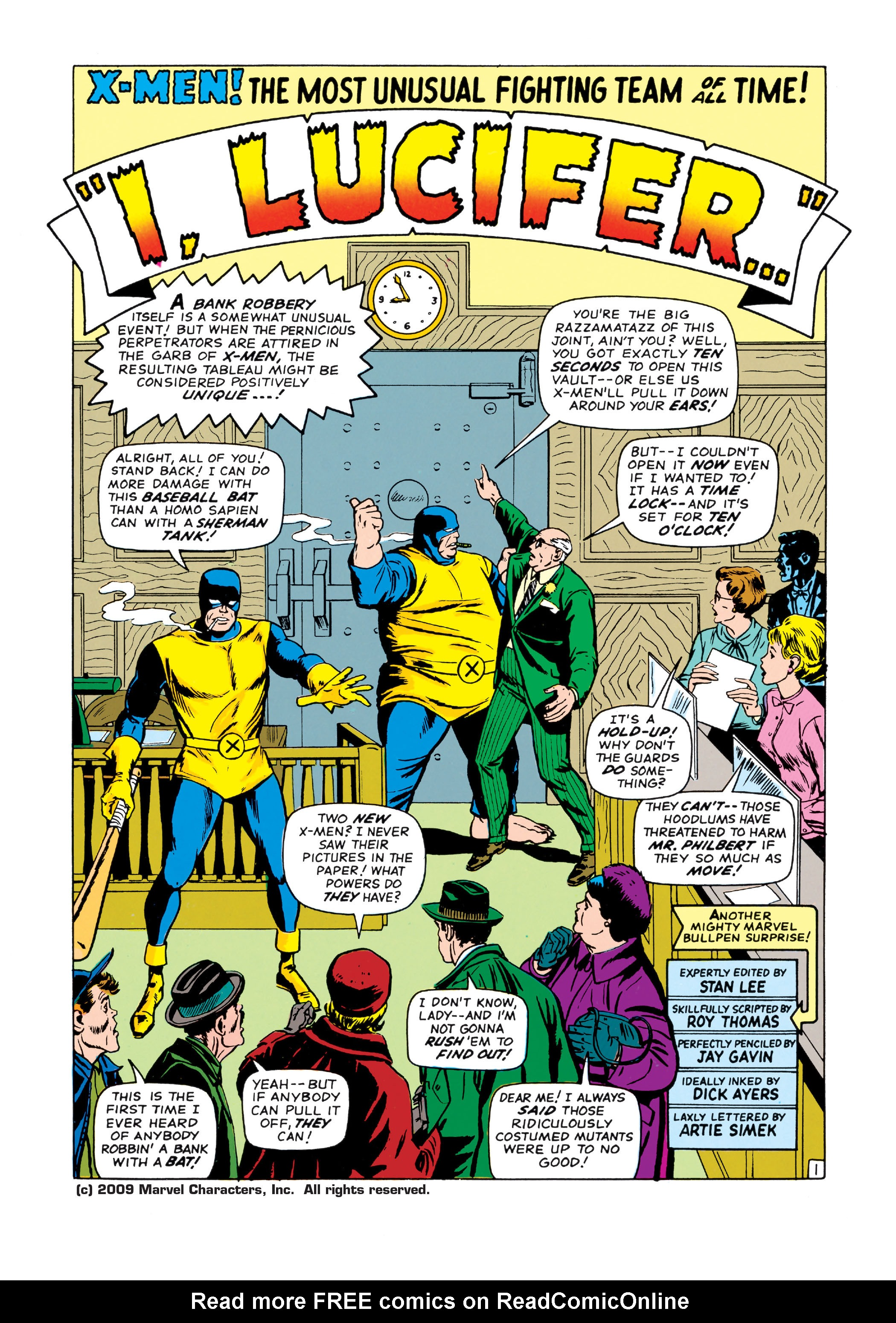 Read online Uncanny X-Men (1963) comic -  Issue #20 - 2