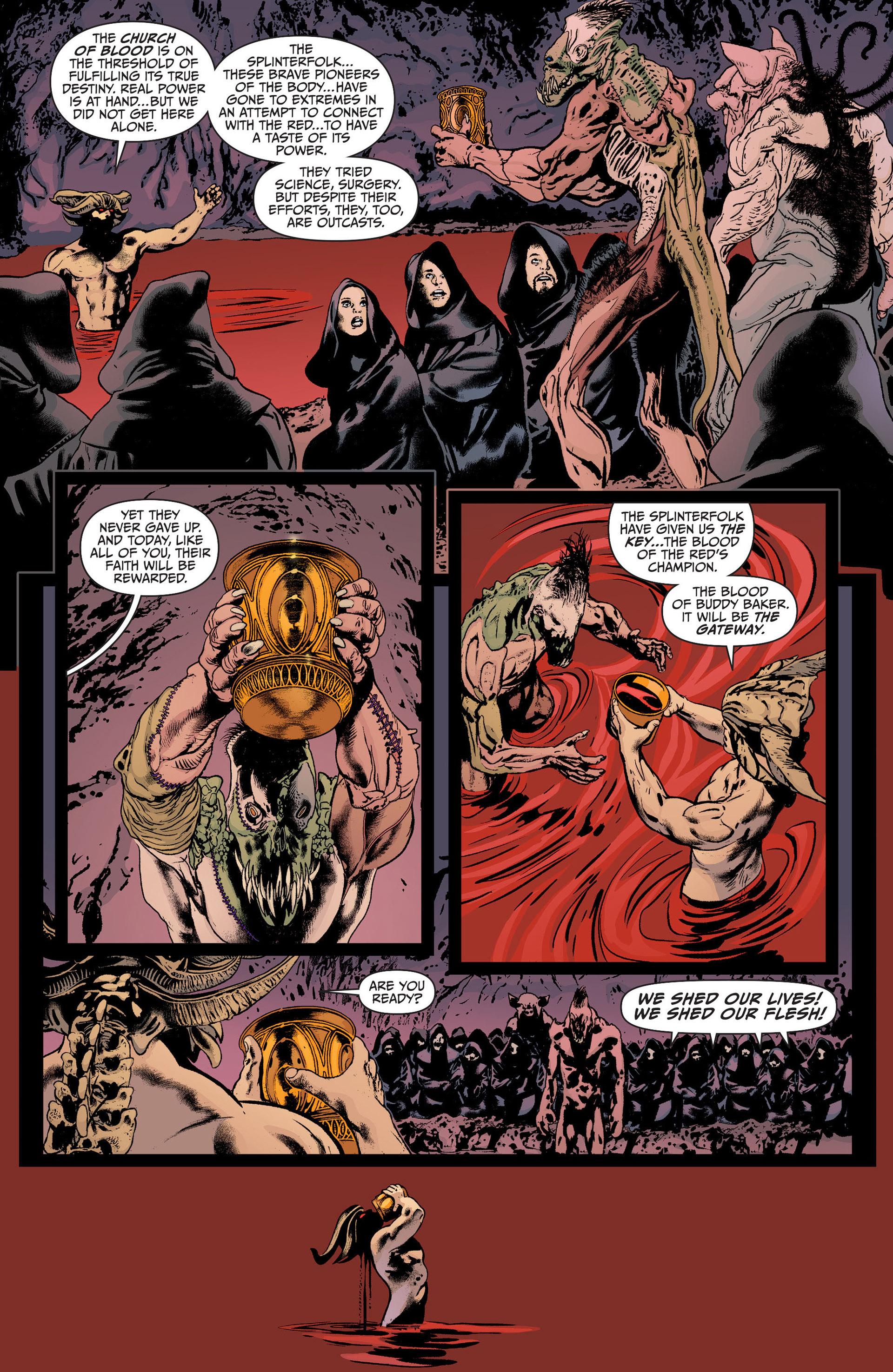 Read online Animal Man (2011) comic -  Issue #23 - 11