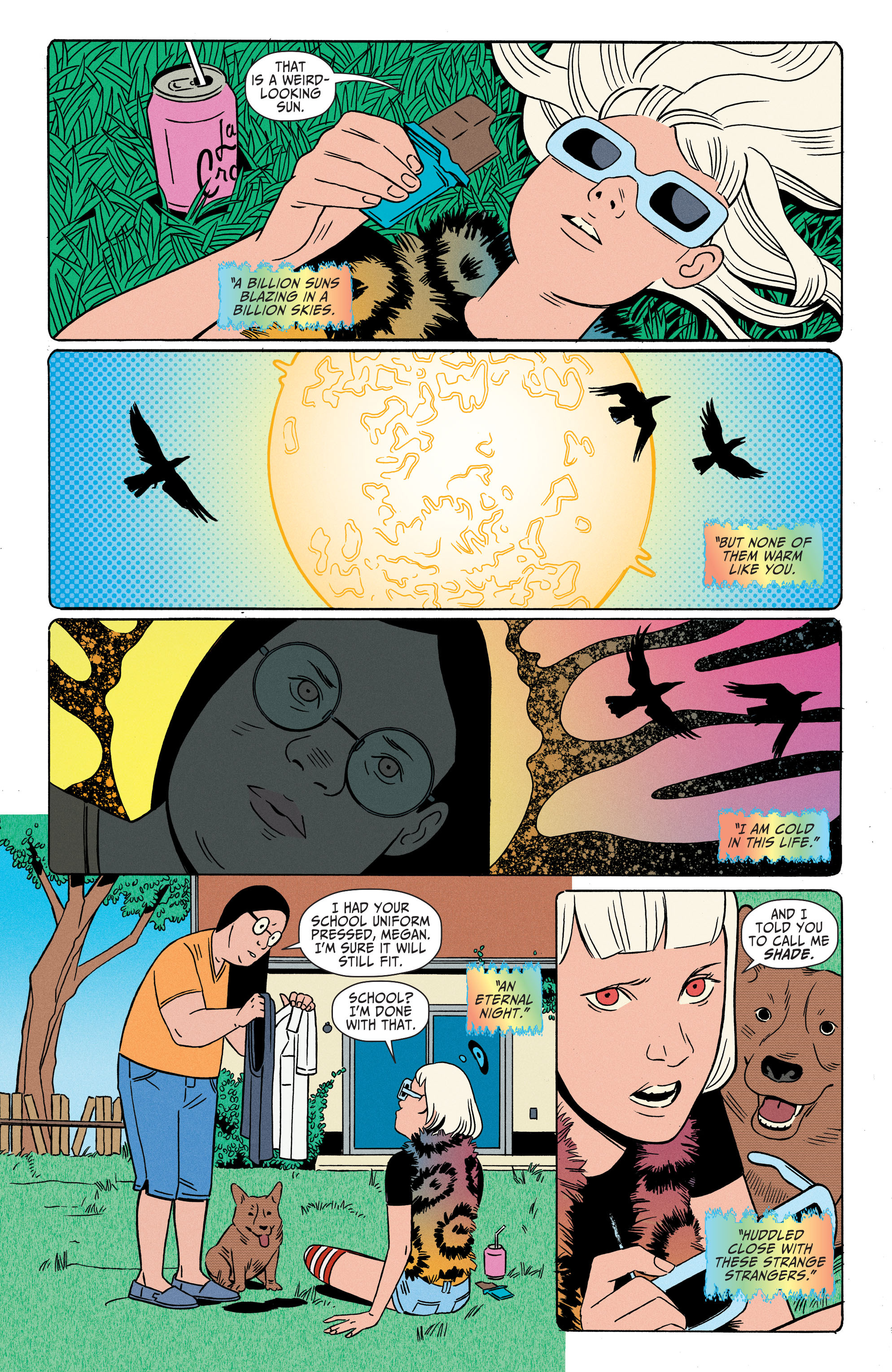 Read online Shade, the Changing Girl comic -  Issue #2 - 4