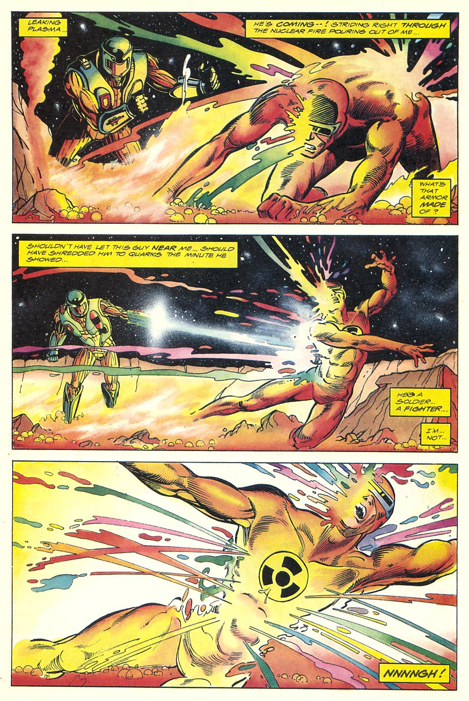 Read online Solar, Man of the Atom comic -  Issue #7 - 13