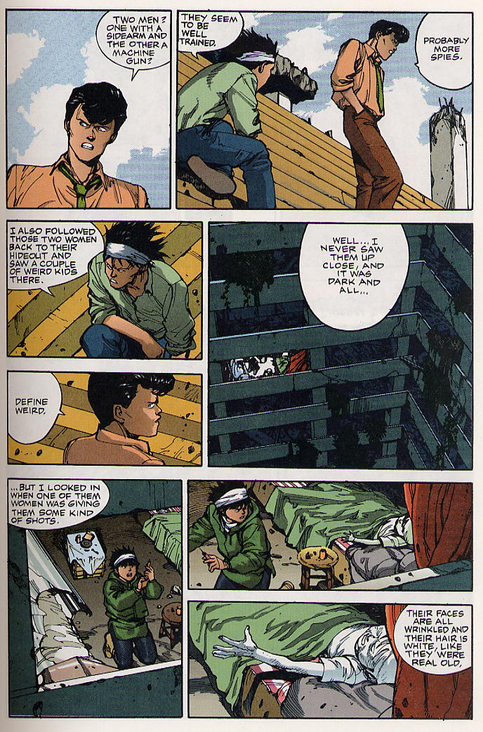 Read online Akira comic -  Issue #19 - 20