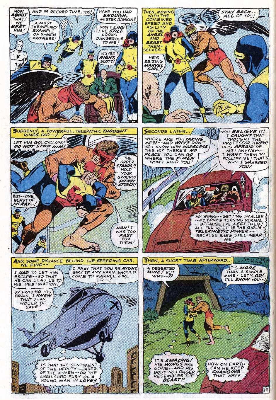 Read online Uncanny X-Men (1963) comic -  Issue #69 - 42