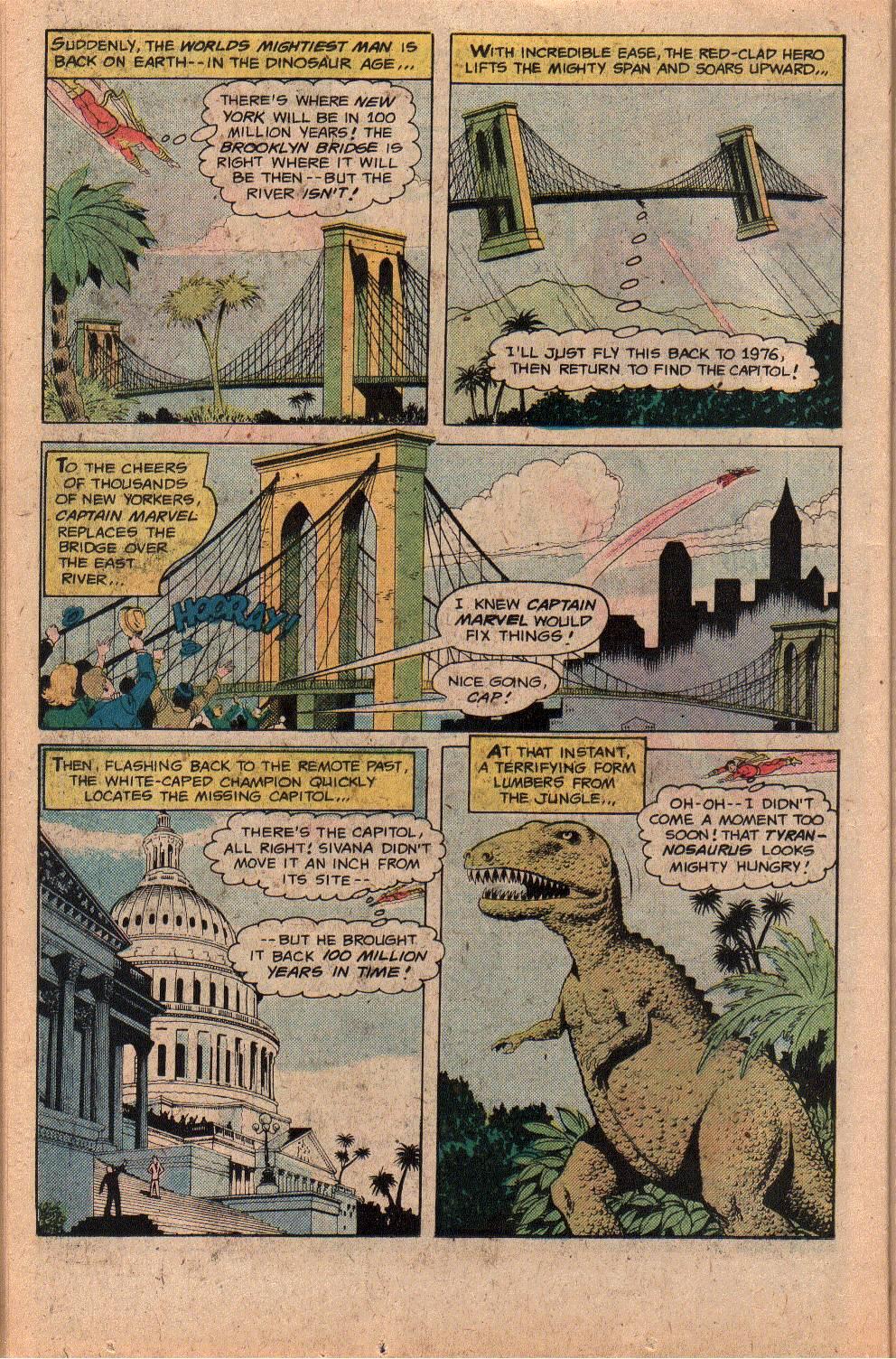 Read online Shazam! (1973) comic -  Issue #26 - 26