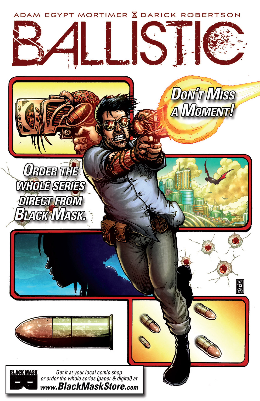Read online Ballistic (2013) comic -  Issue #1 - 27