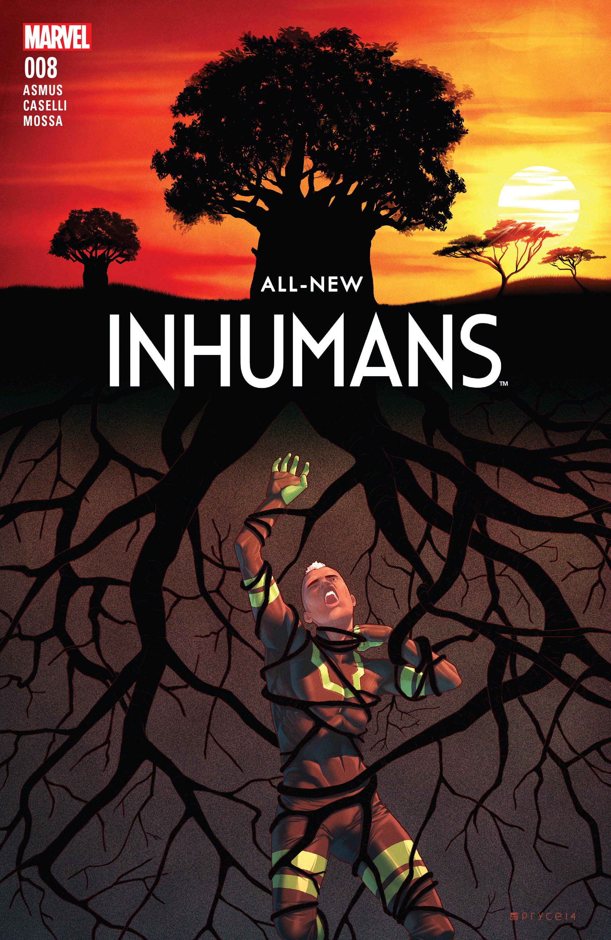 Read online All-New Inhumans comic -  Issue #8 - 1