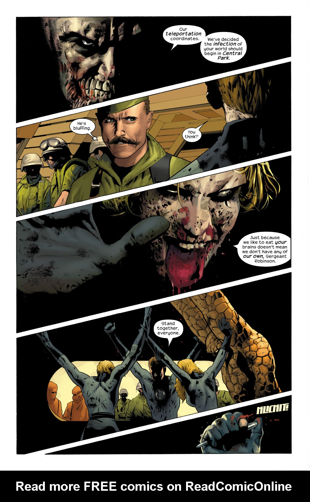 Read online Ultimate Fantastic Four (2004) comic -  Issue #31 - 5