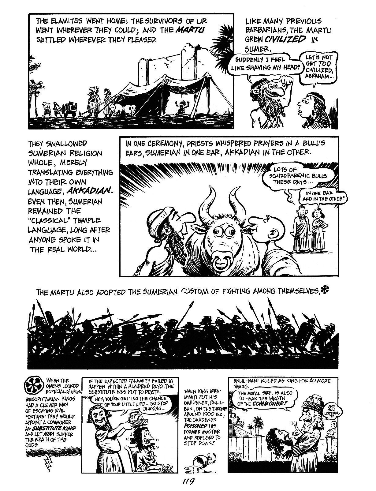 Read online The Cartoon History of the Universe comic -  Issue #3 - 19