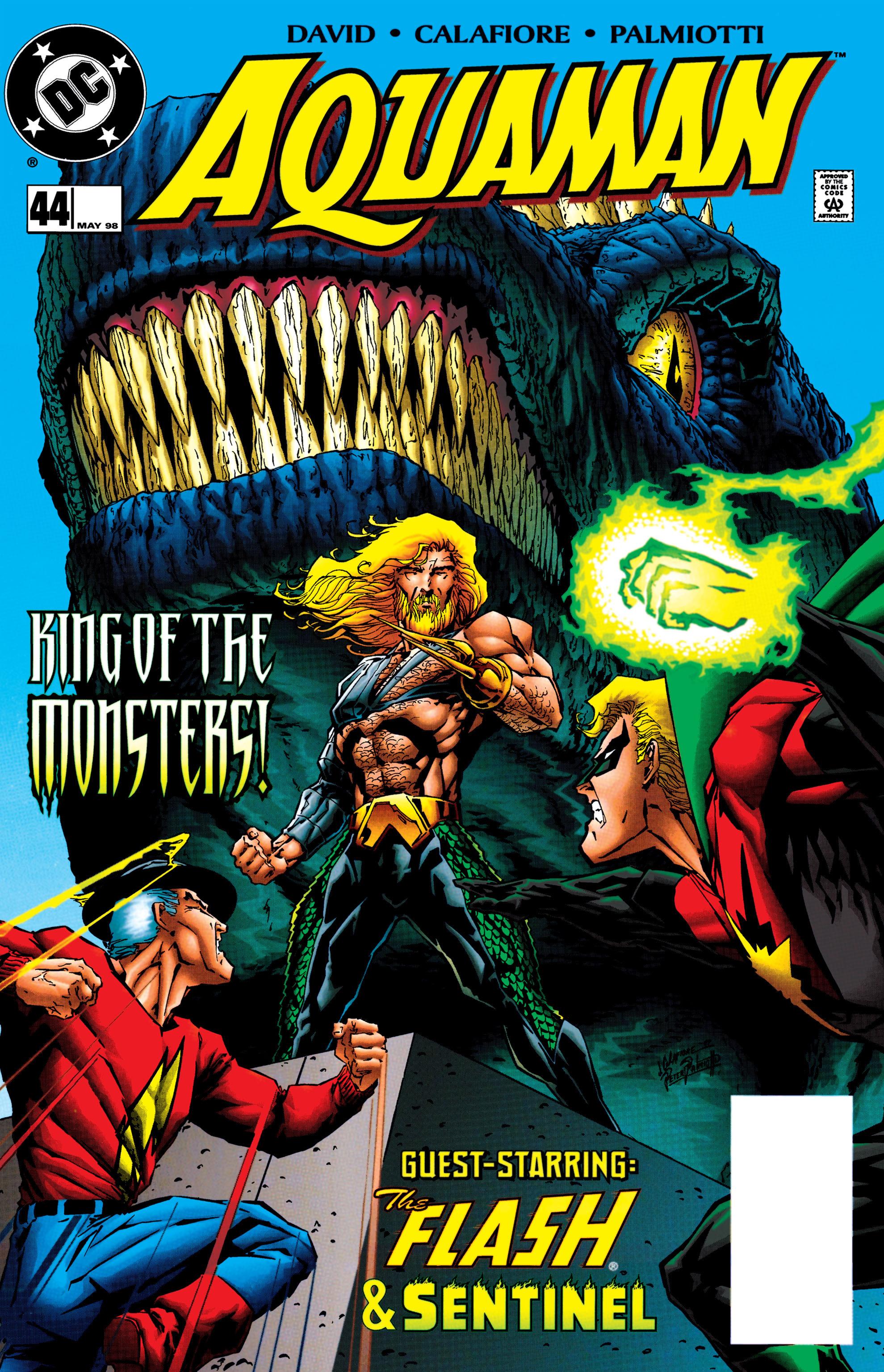 Read online Aquaman (1994) comic -  Issue #44 - 1