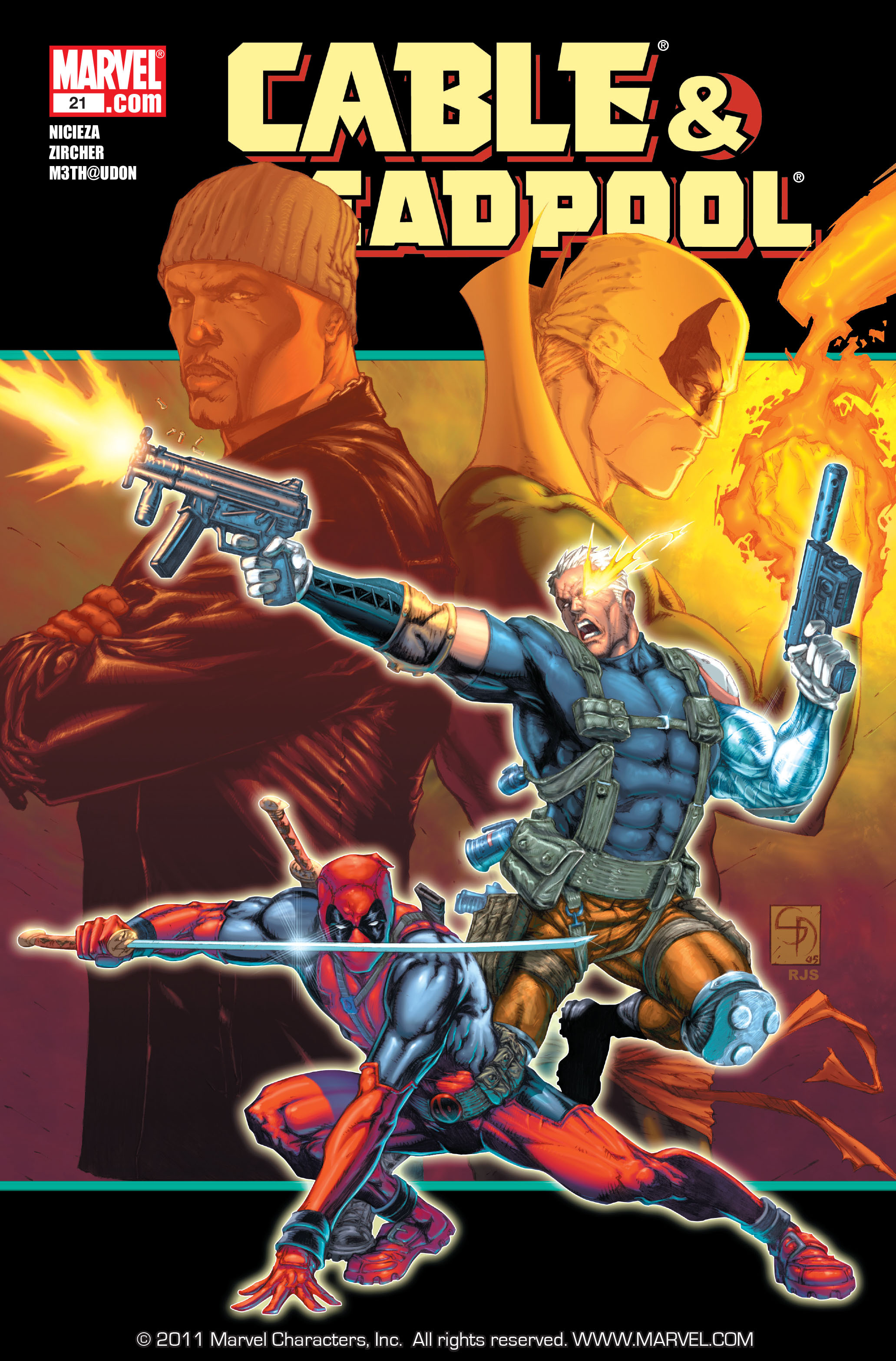 Cable and Deadpool 21 Page 1