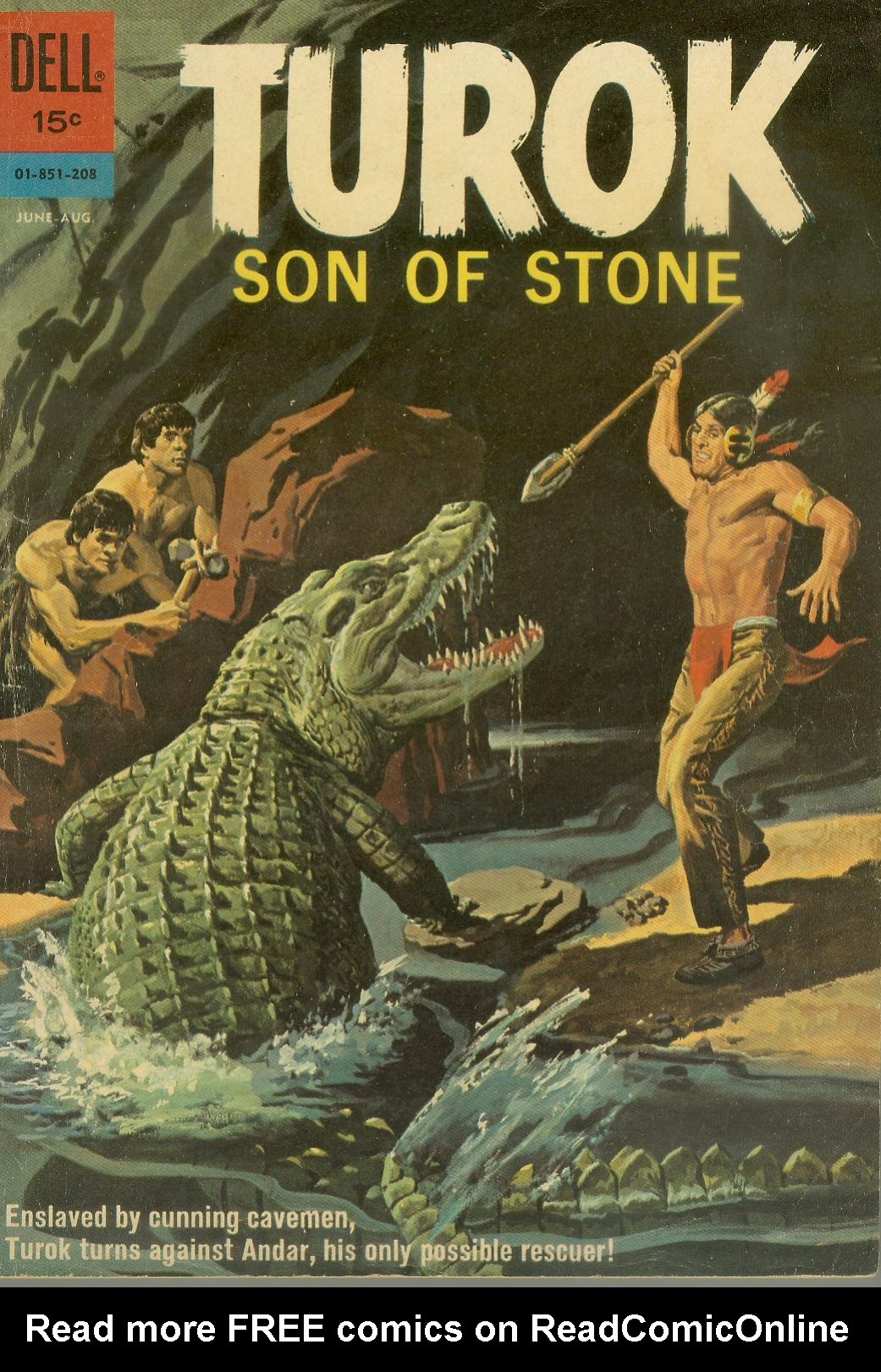Read online Turok, Son of Stone comic -  Issue #28 - 1