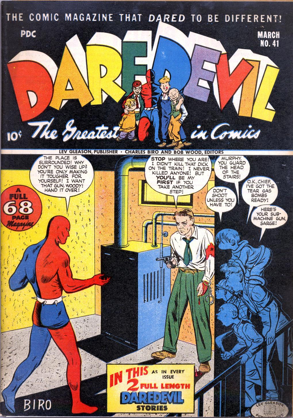 Daredevil (1941) 41 Page 1