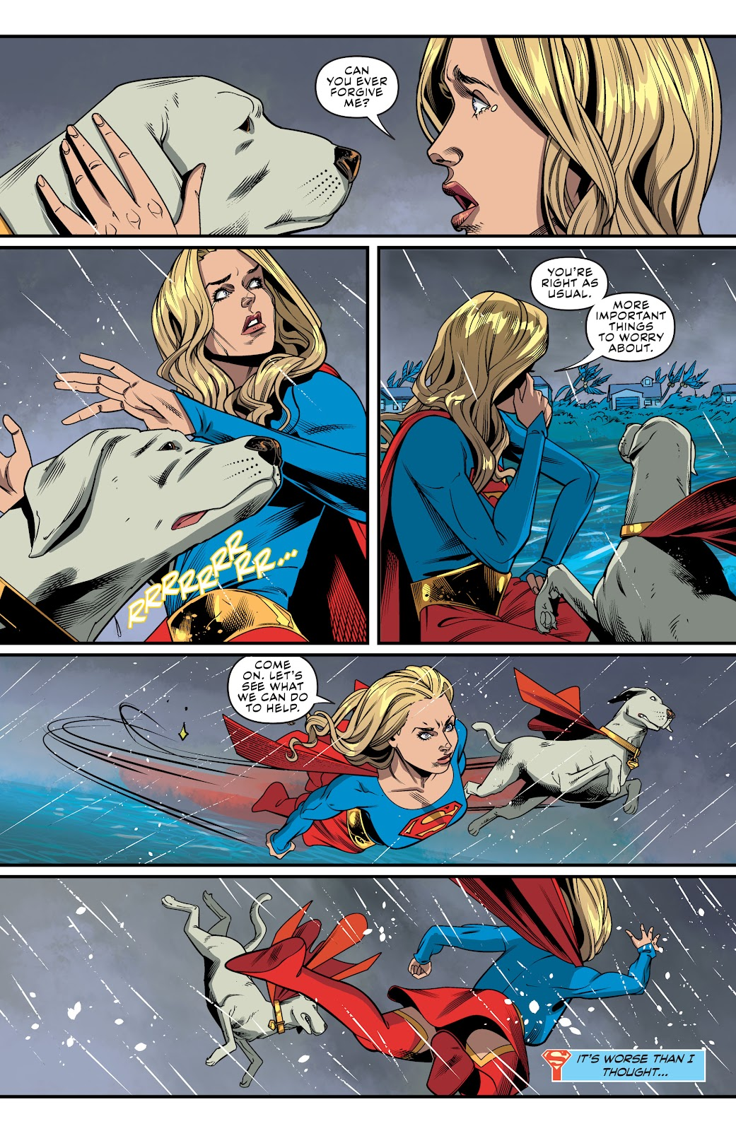 Read online Supergirl (2016) comic -  Issue #41 - 9