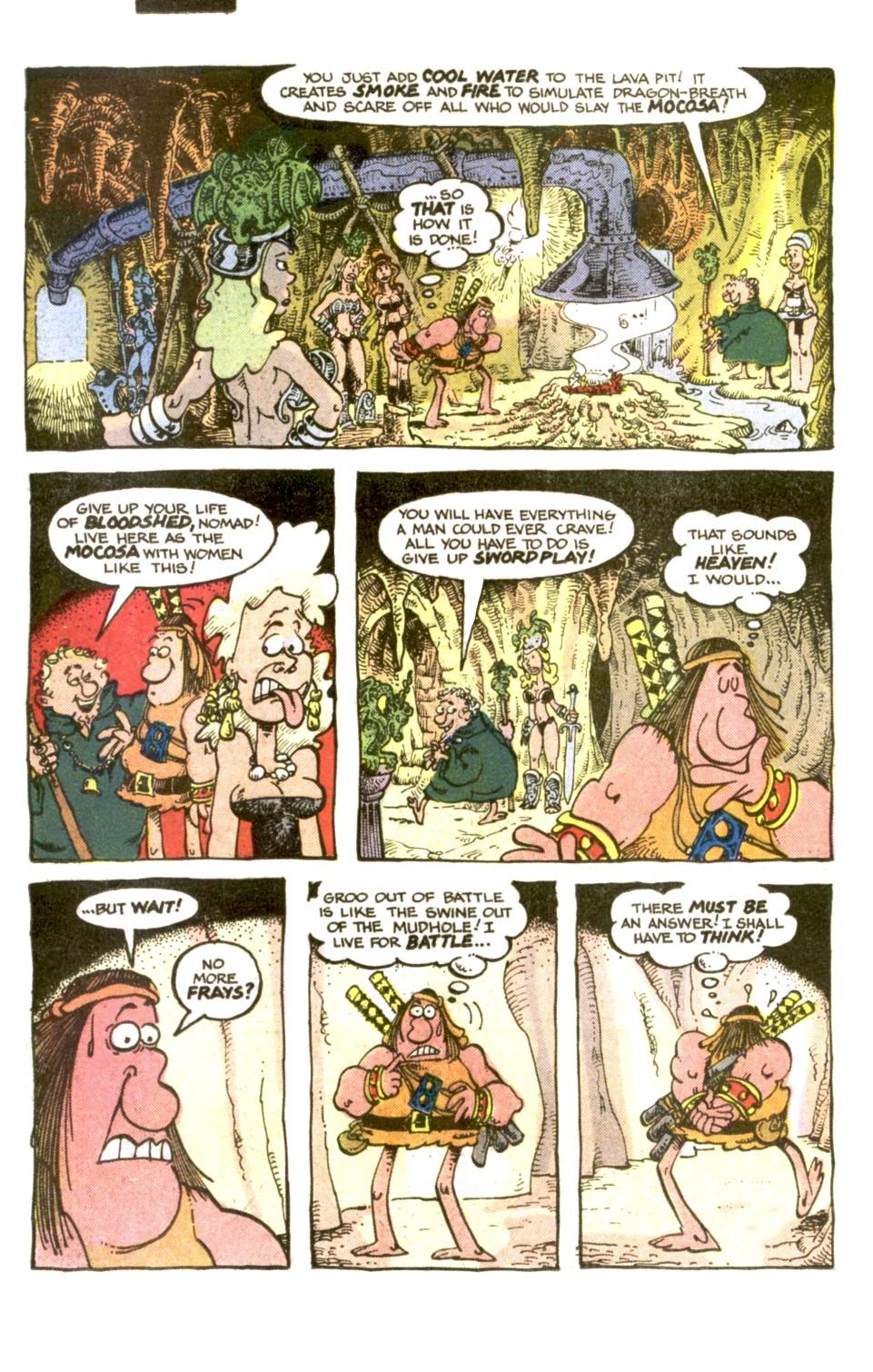 Read online Sergio Aragonés Groo the Wanderer comic -  Issue #2 - 18