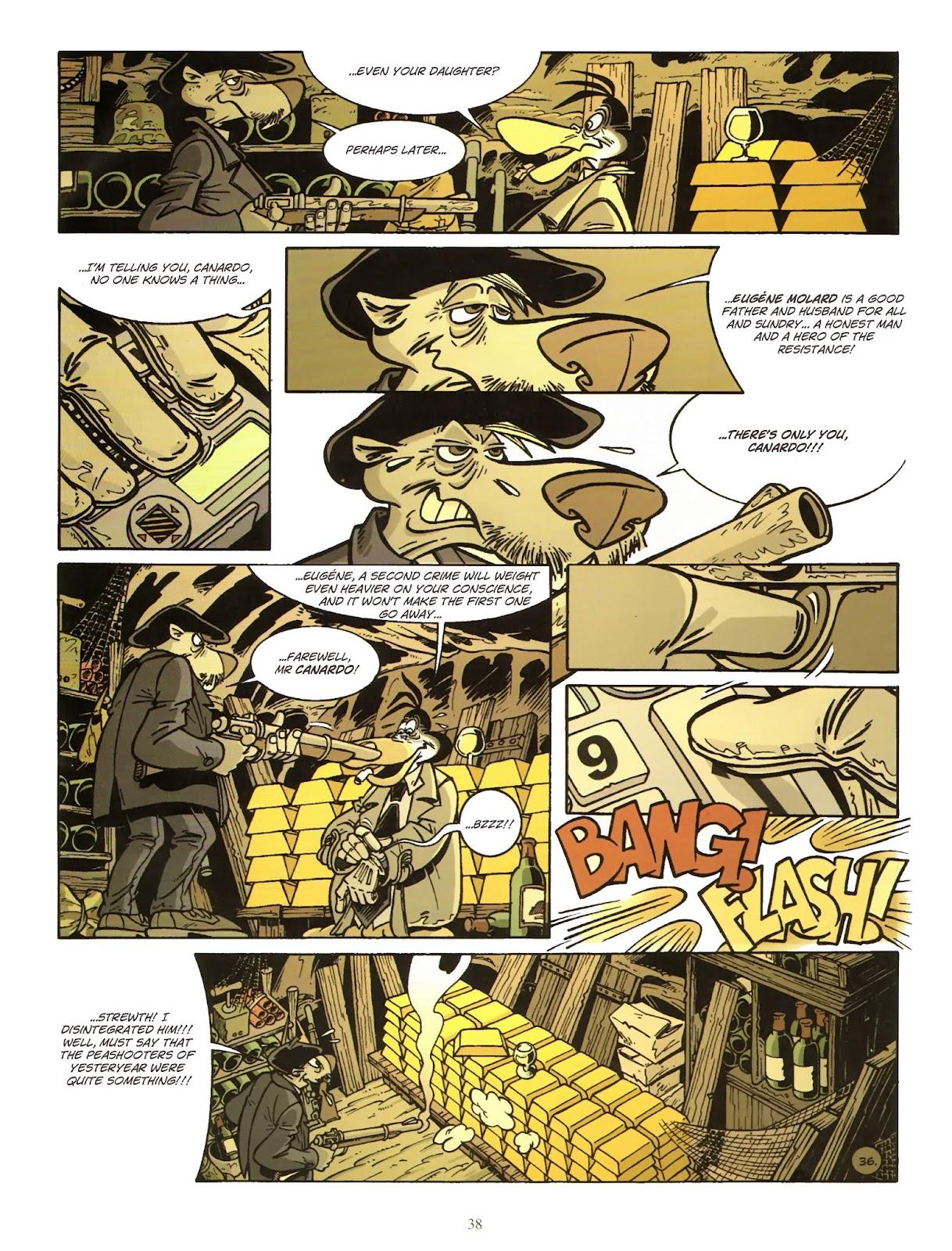 Une enquête de l'inspecteur Canardo issue 11 - Page 39