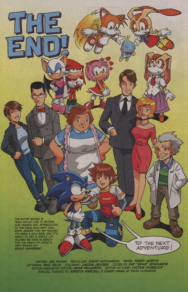 Read online Sonic X comic -  Issue #40 - 32